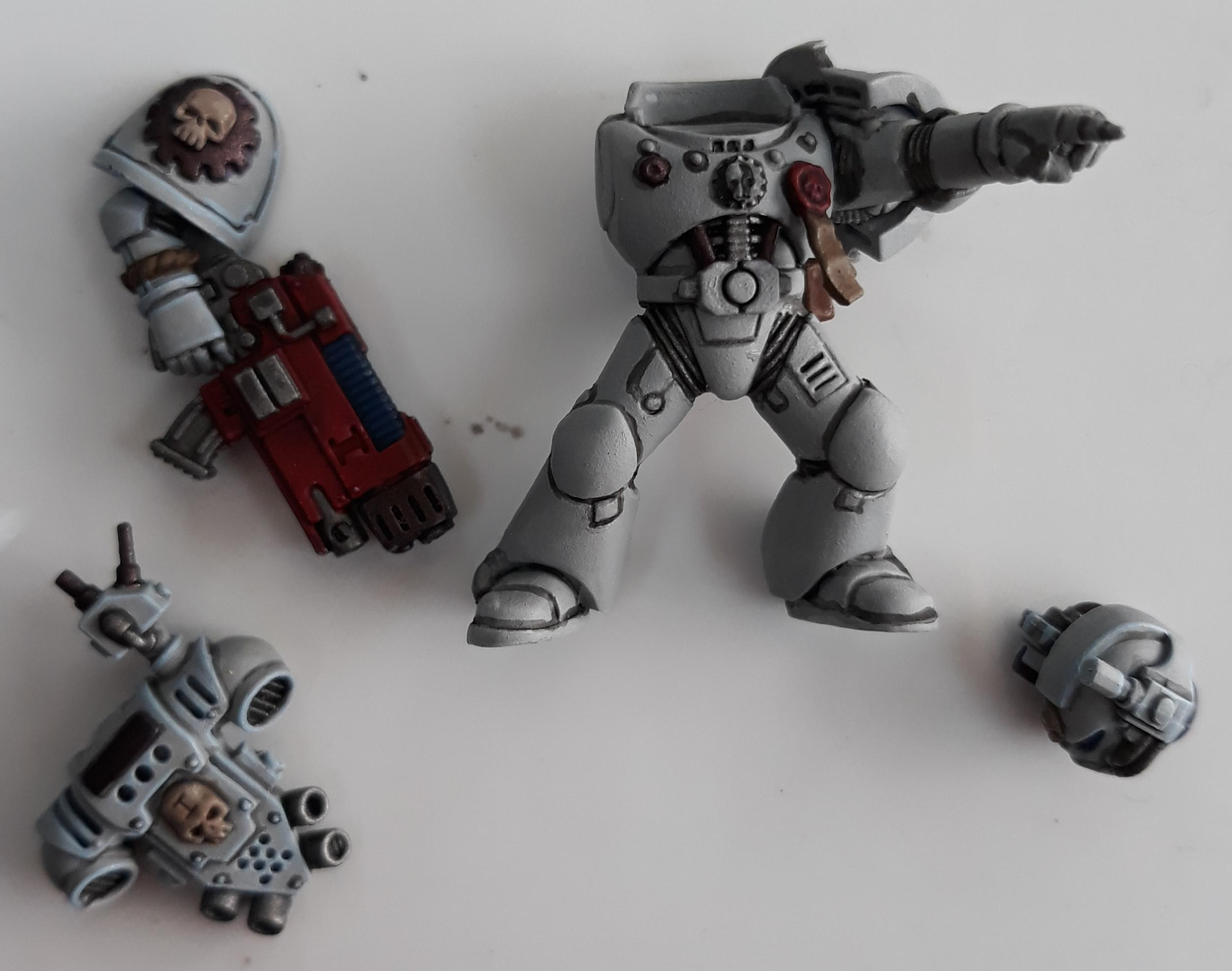 Command squad special Weapon WIP 4