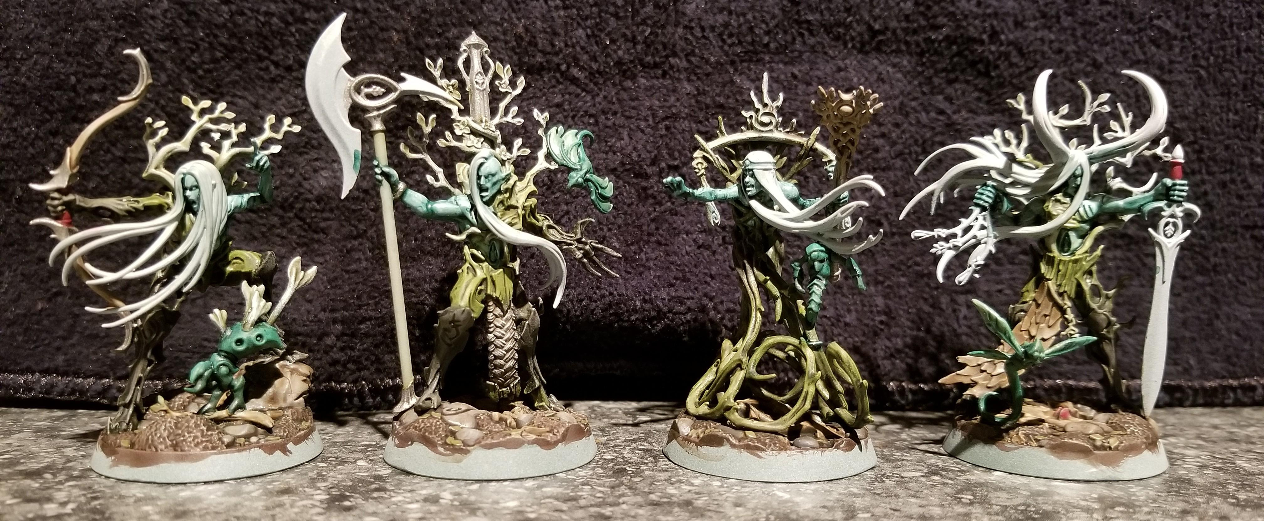 Sylvaneth, revenants, ylthari's guardians, ylthari and pals, WIP