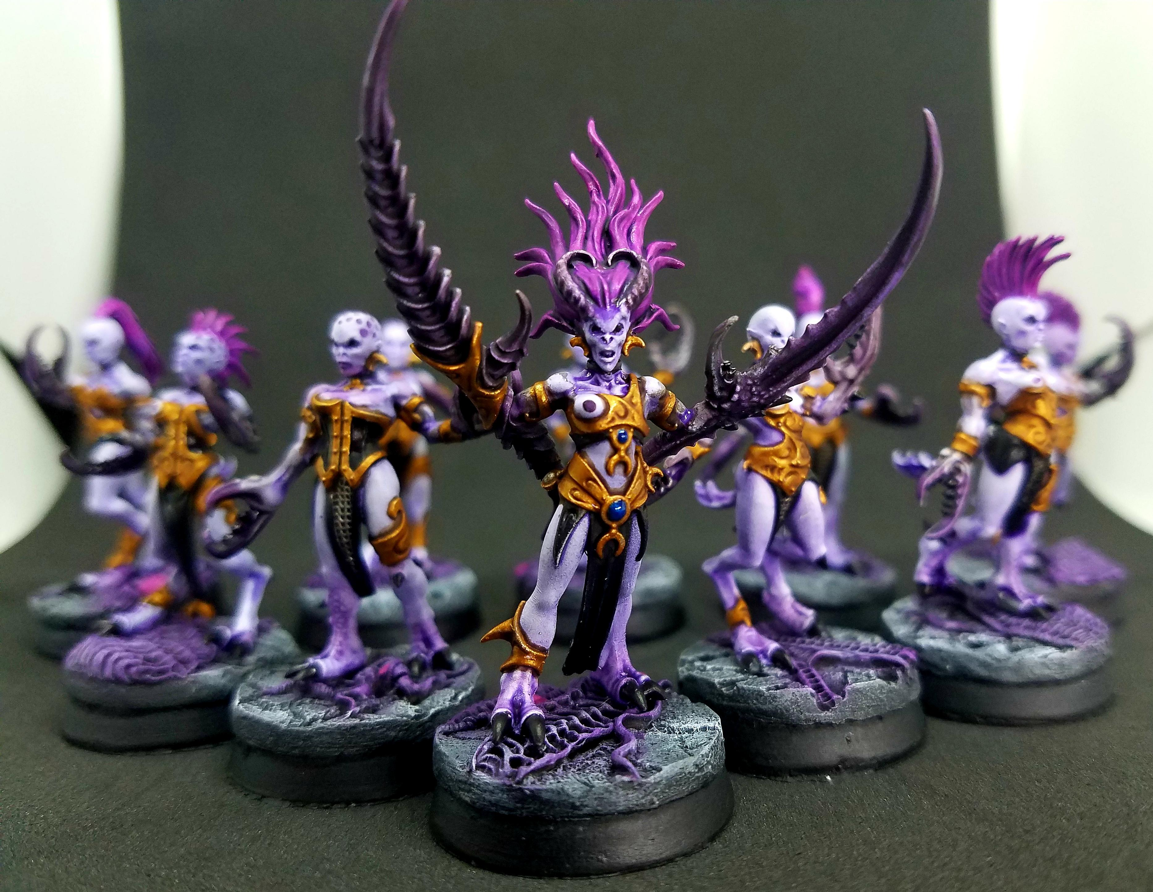Chaos, Daemonettes, Daemons, Mountain Wargaming, Slaanesh, Warhammer 40,000