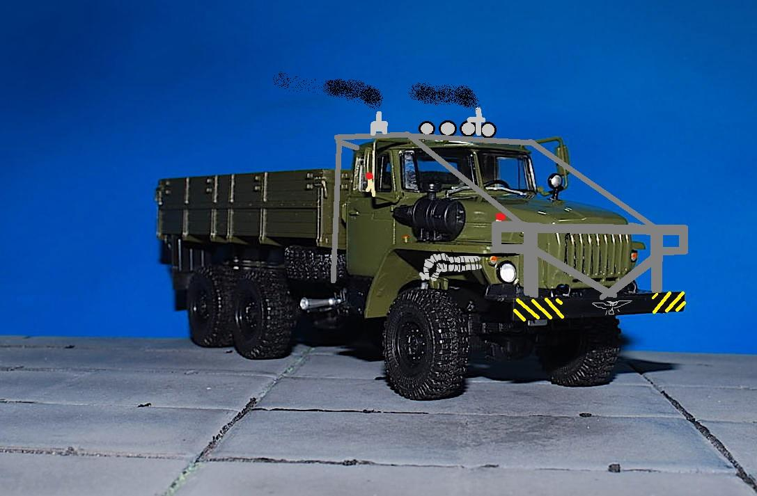 Ural 4320 concept
