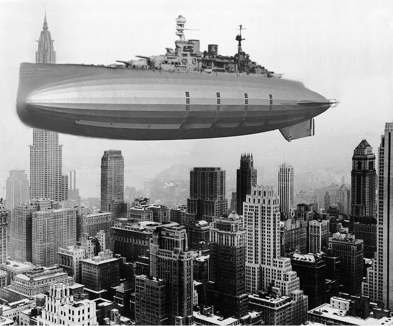 Airship, Dieselpunk, Weird War Ii, World War 2