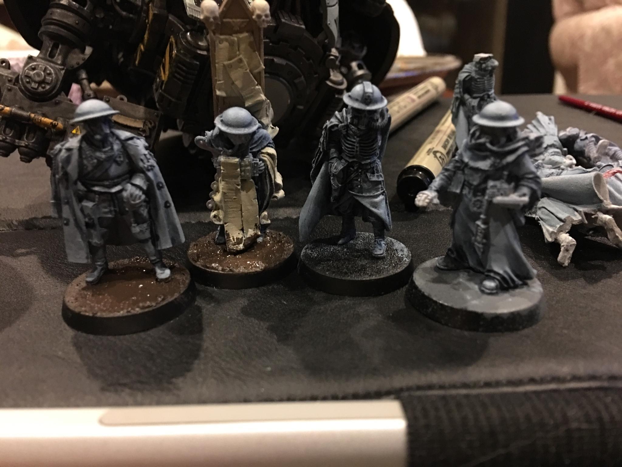 Astra Militarum, Genestealer Cults, Imperial Guard, Renegades