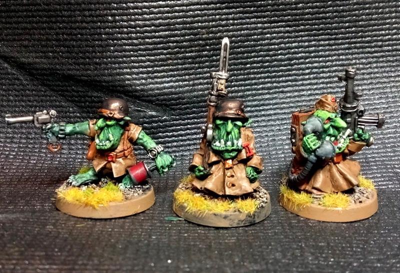 Goblins, Greatcoat, Gretchin, Grotz, Iron Reich, Kromlech, Orks