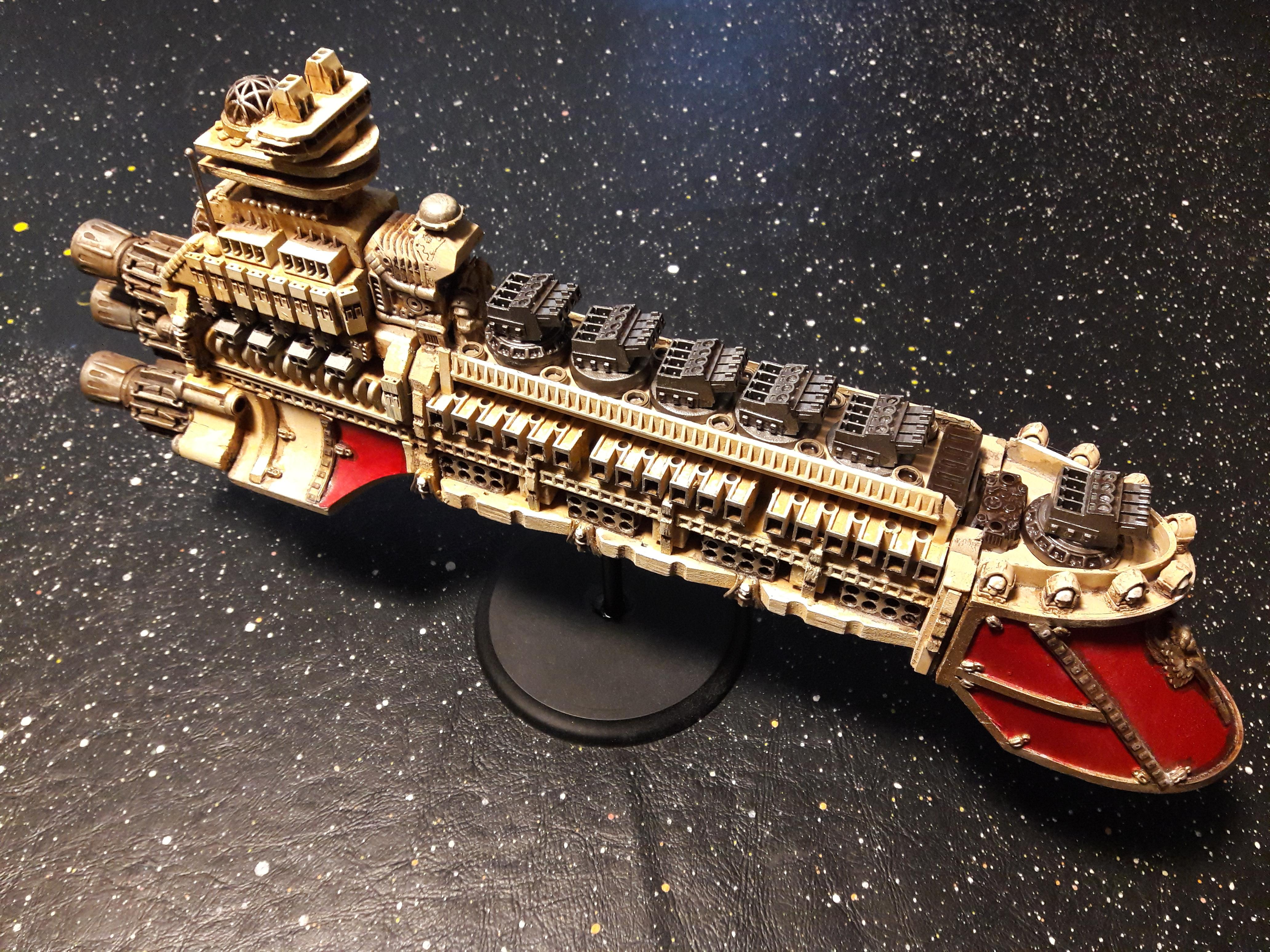 Battlefleet Gothic, Battleship, Cruiser, Imperial, Minis, Rogue Trader, Rpg, Scratch Build, Terrain