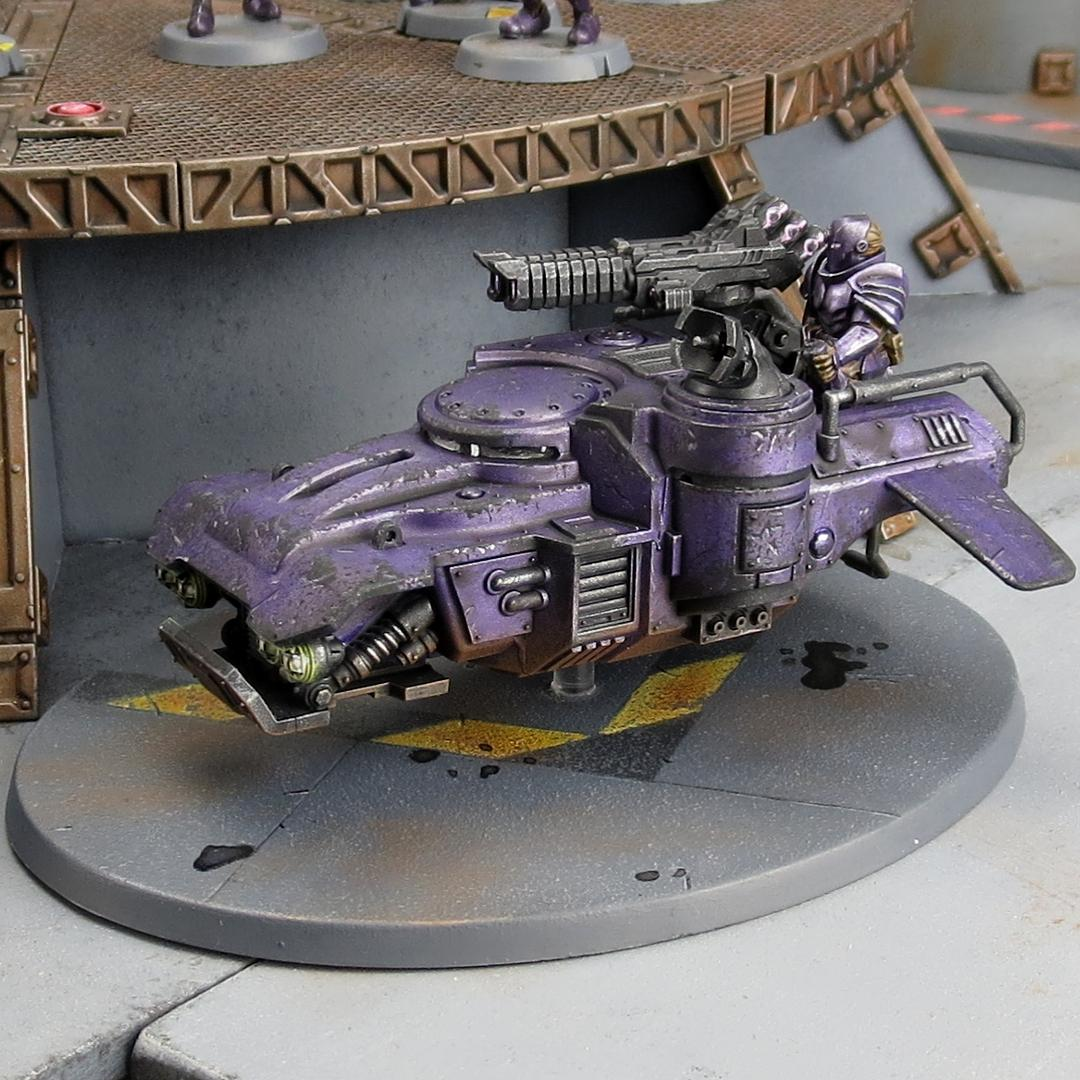 Karists, Landing Pad, Maelstrom's Edge, Medge, Metallic Purple