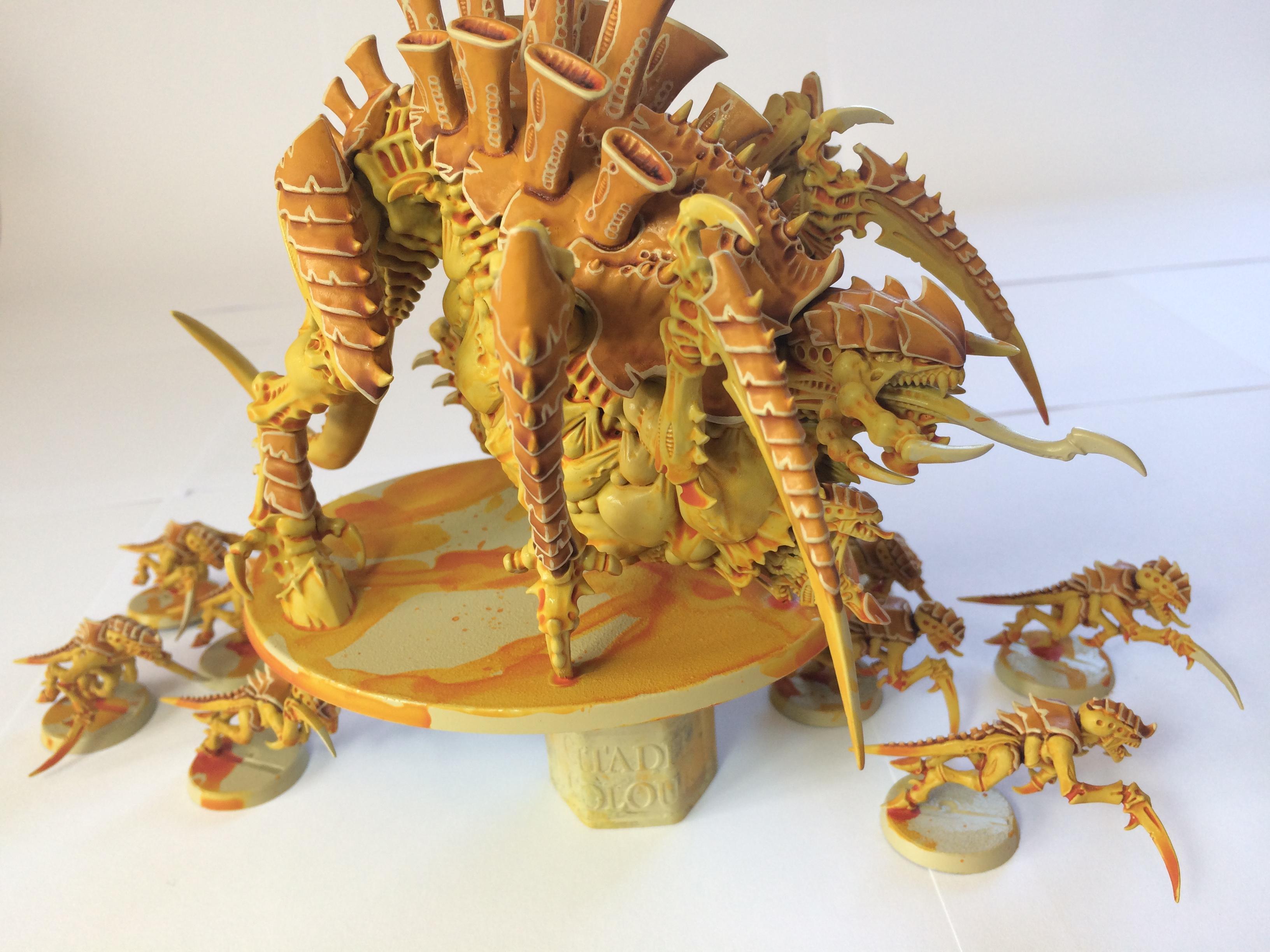 Mastodon, Tyranids, Yellow