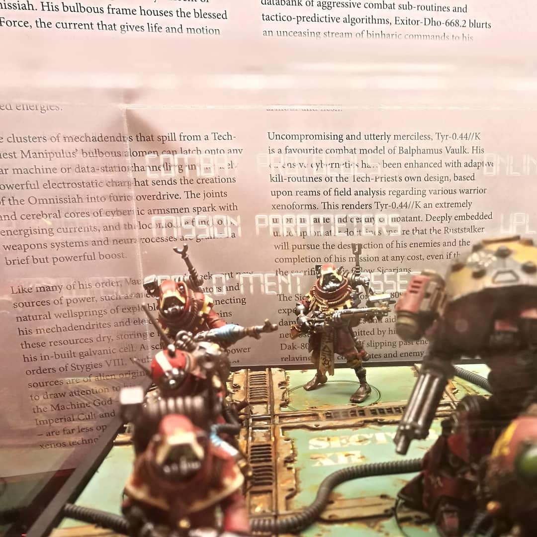 Adeptus Mechanicus, Conversion, Golden Demons, Skitarii, Warhammer 40,000