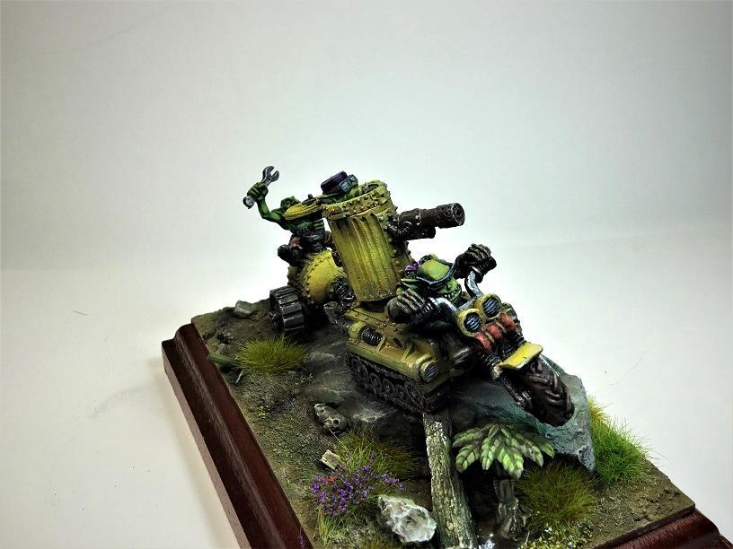 Greenskinz, Orks, Orrukz, Scorcher, Warhammer 40,000
