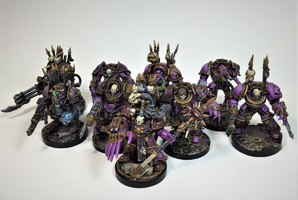 Abaddon, Chaos, Horus, Slaanesh, Terminator Armor, Warhammer 40,000