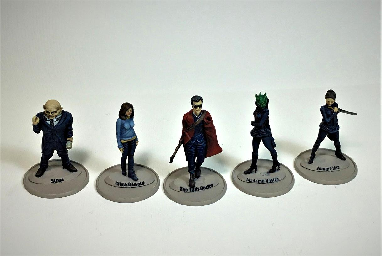 Dr Who, The Twelfth Doctor & Companions