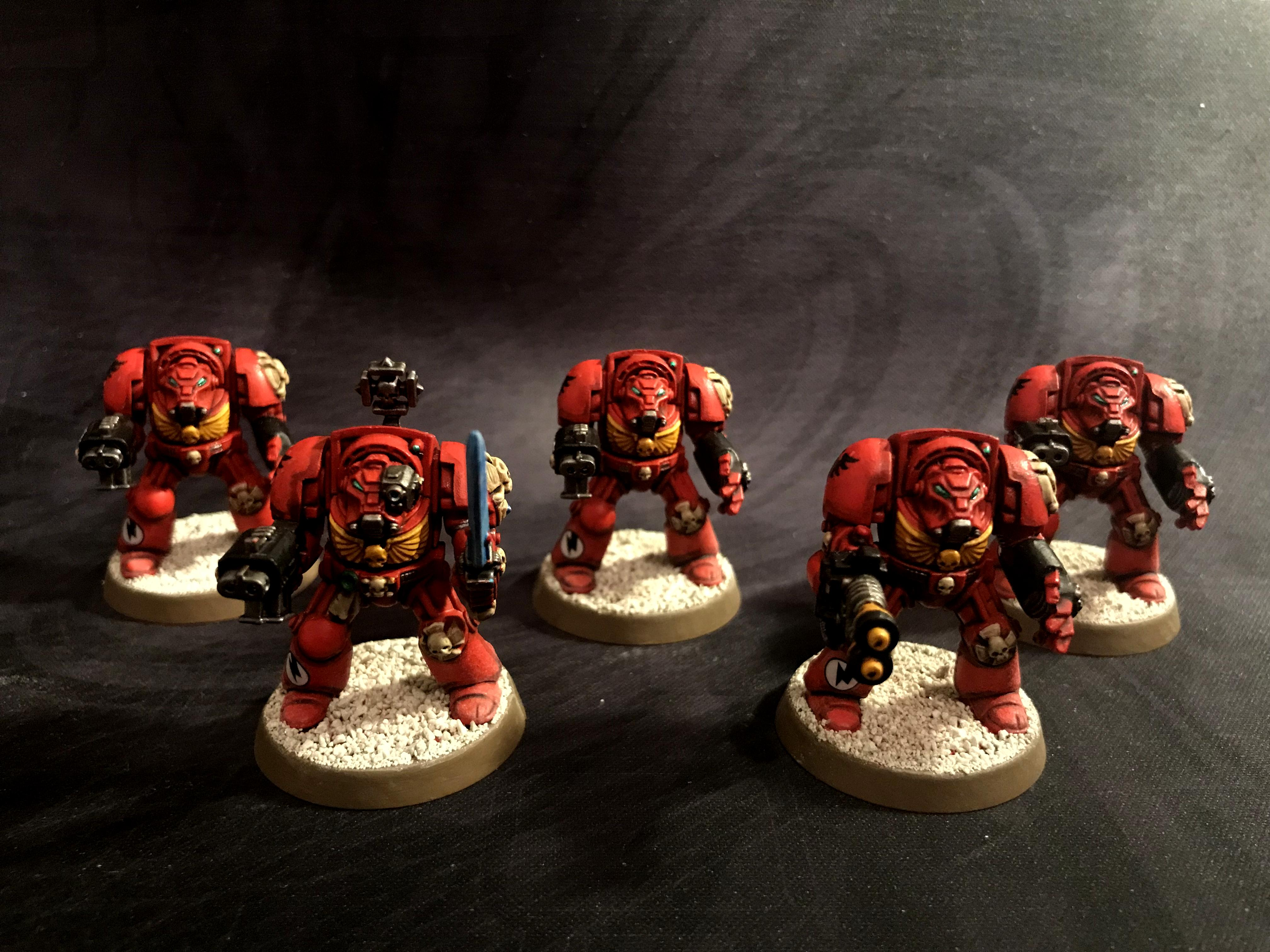 2nd Edition, Blood Angels, Terminator Armor