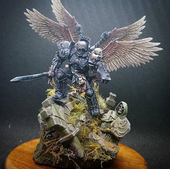 Chaos Space Marines, Daemon Prince, Konrad Curze, Night Lords, Primarch