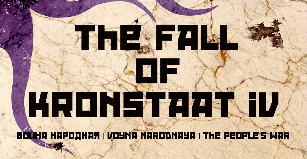 The Fall of Kronstaat IV - The People's War [NSFW] WIP Children of