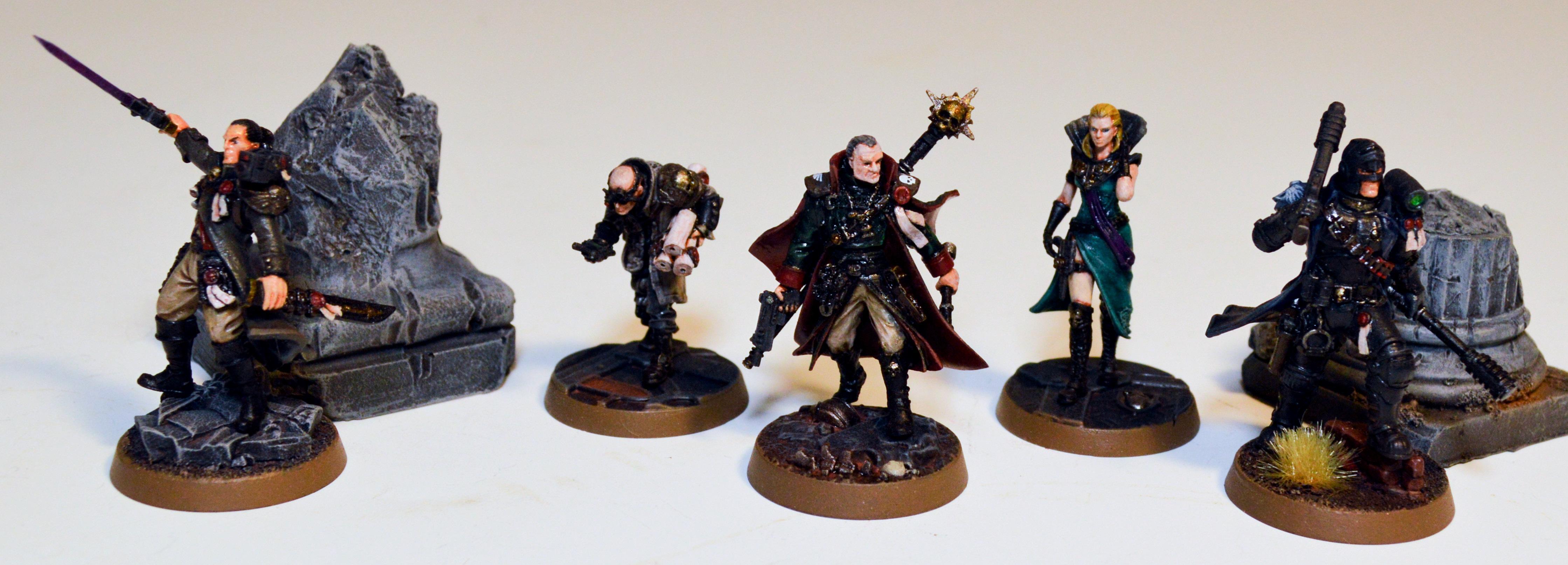 Artel W, Eisenhorn, Inquisition, Warhammer 40,000
