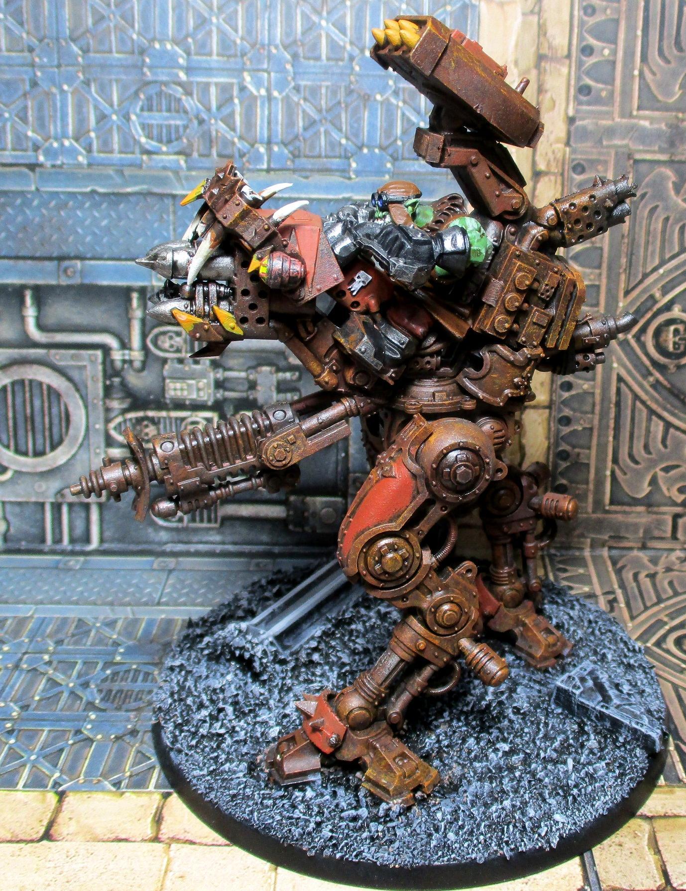 Conversion, Killa Kan, Mech, Orcs, Walker, Warhammer 40,000, Warhammer40000