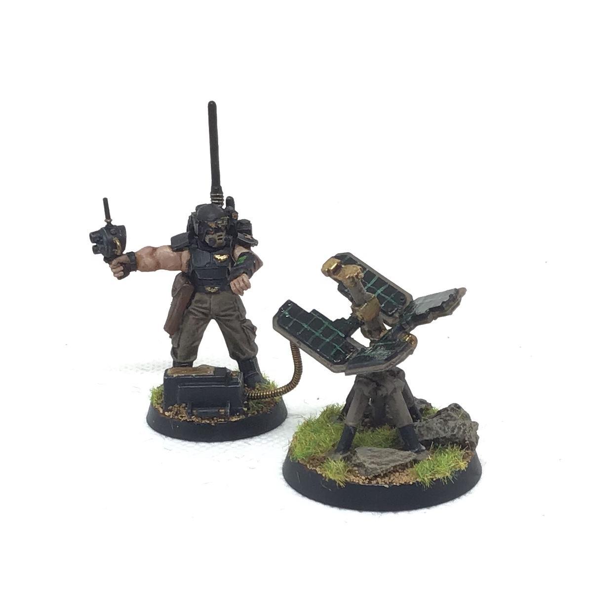 Astra Militarum, Communications, Conversion, Games Workshop, Guard, Imperial Guard, Imperium, Kitbash, Militarum, Uplink, Vox, Warhammer 40,000