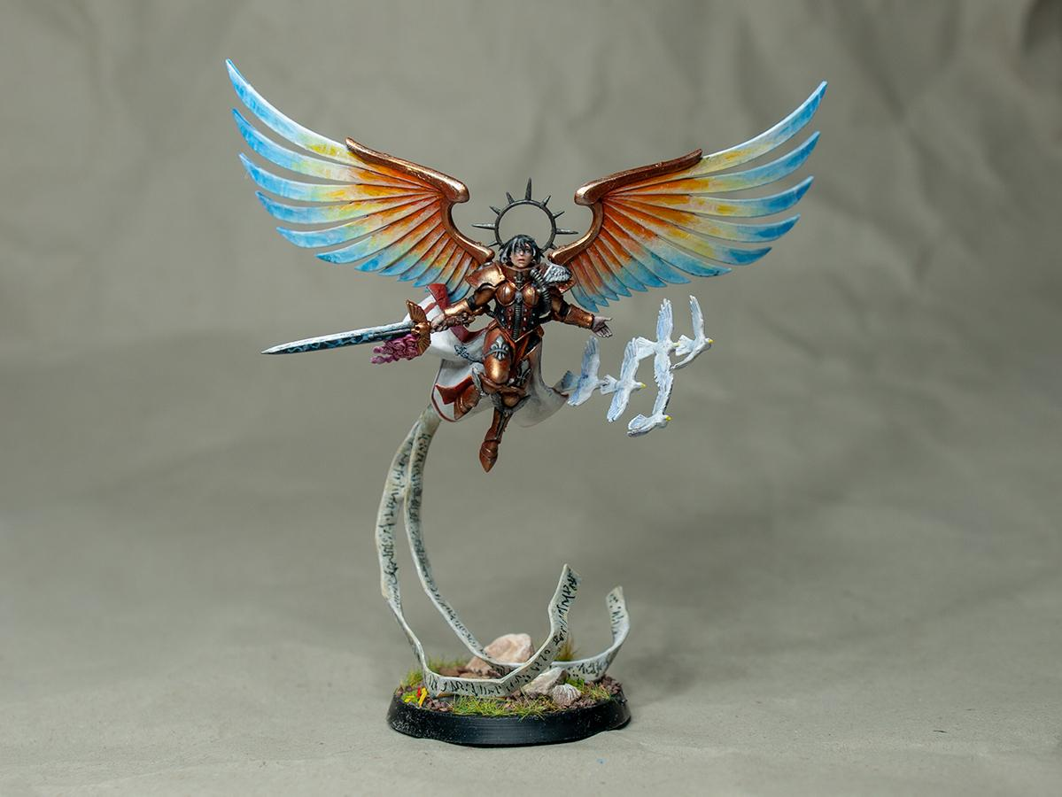 Angel, Celestine, Living Saint, Sisters Of Battle, Warhammer 40,000