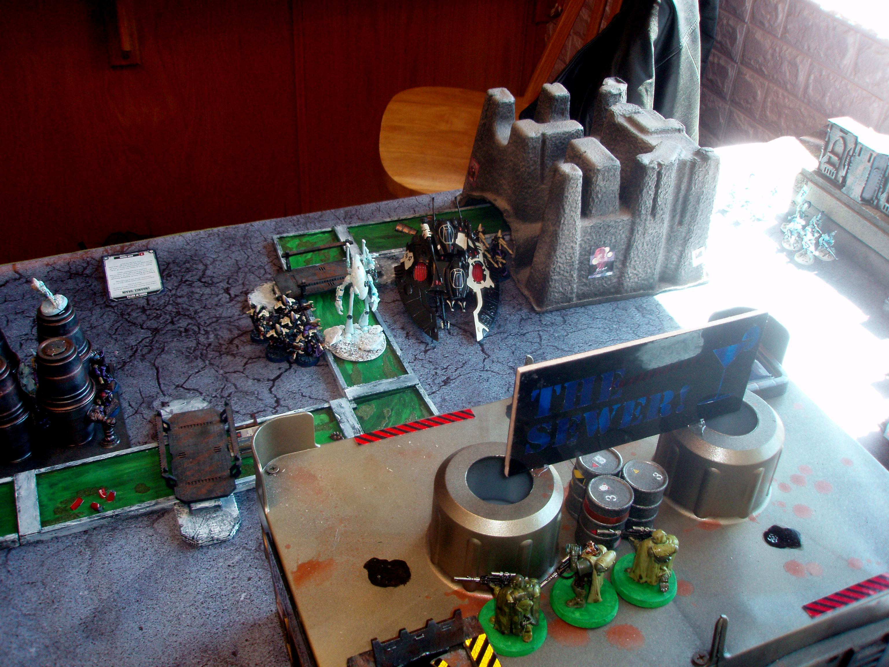 Battle, Hive City, Hive City Battle, Ulthwe, Warhammer 40,000