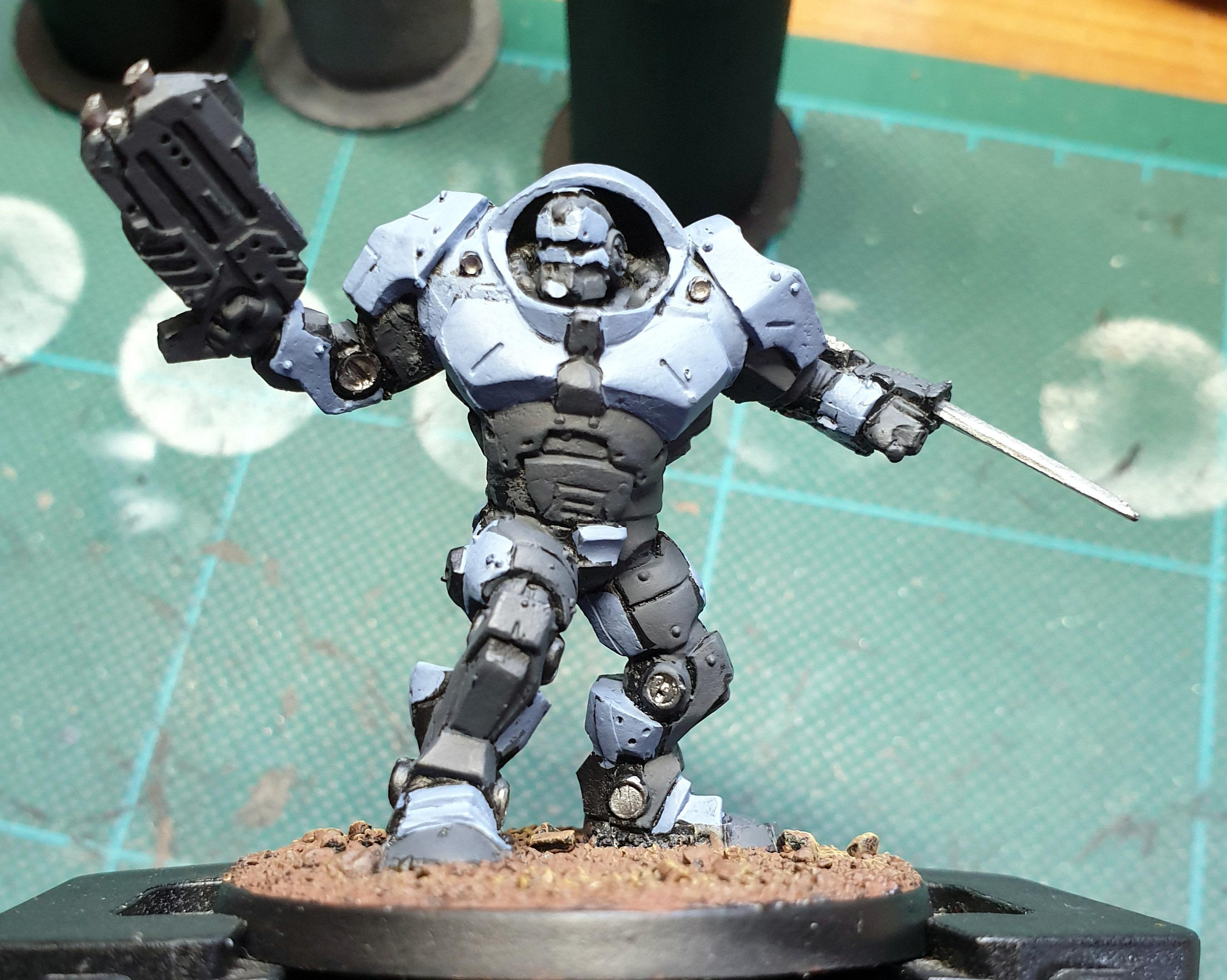 Enforcer, Mantic, Work In Progress