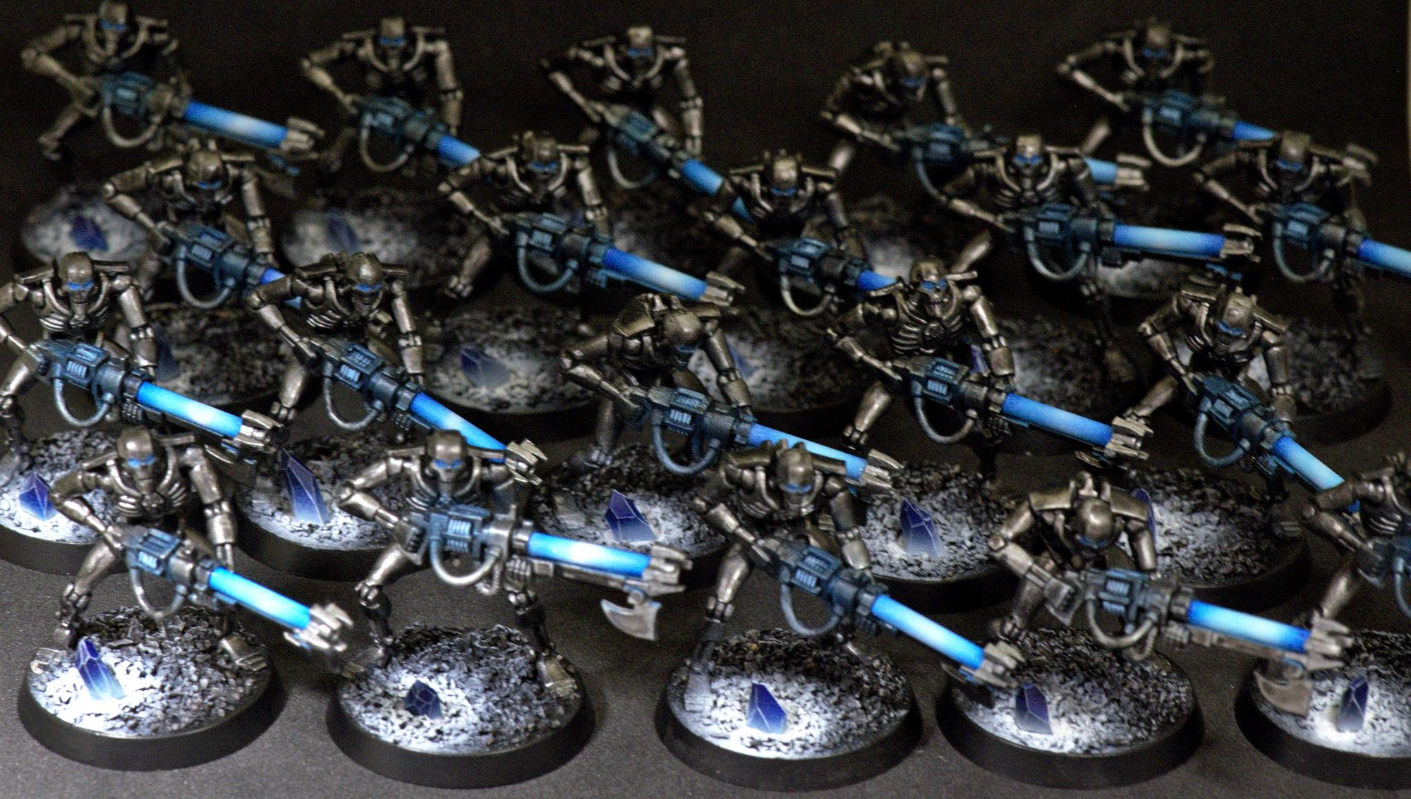 Necron Warriors, Blue Necron Warriors