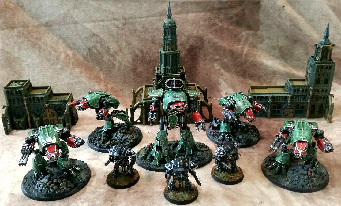 Adeptus Titanicus, Knights, Legio, Reaver, Solaria, Warhound