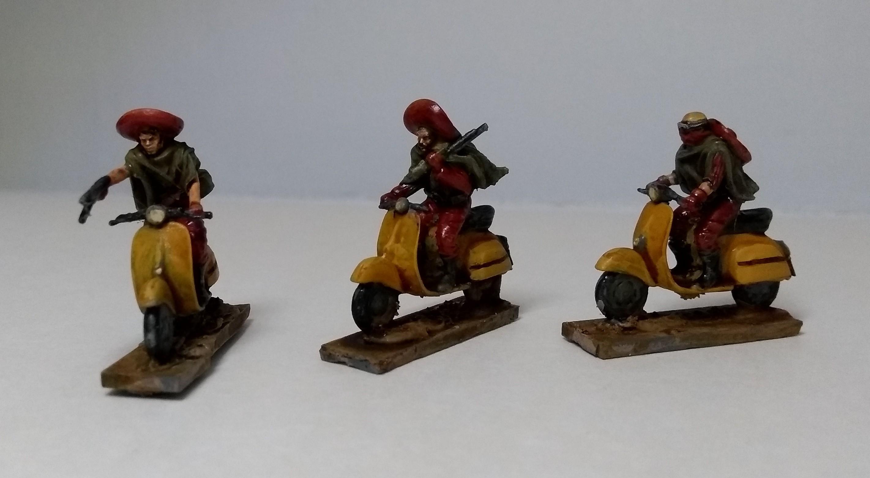 Bandit, Gaslands, Scooter, Western