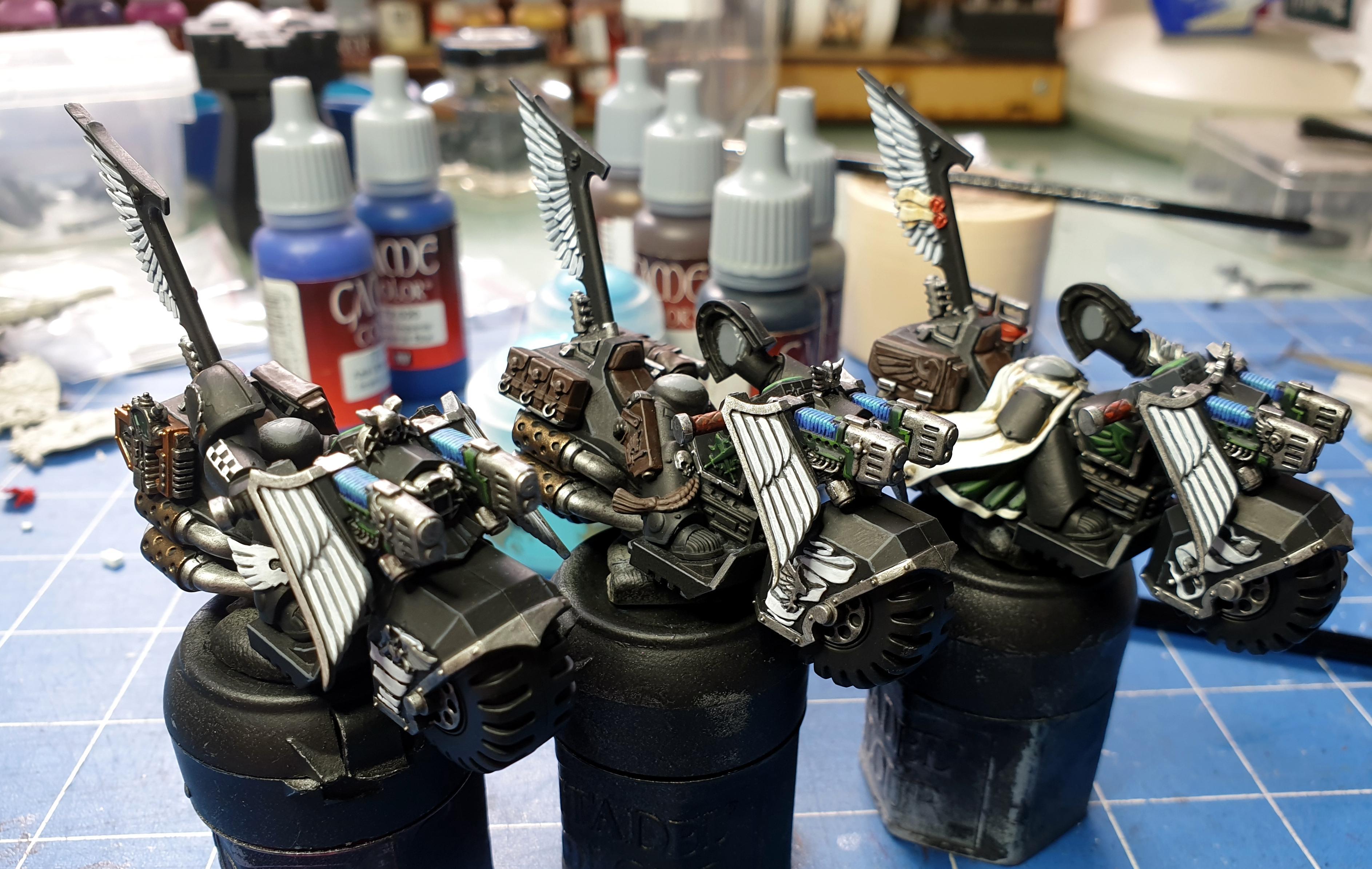Bike, Black, Corvus, Hammer, Knights, Plasma, Ravenwing, Talon