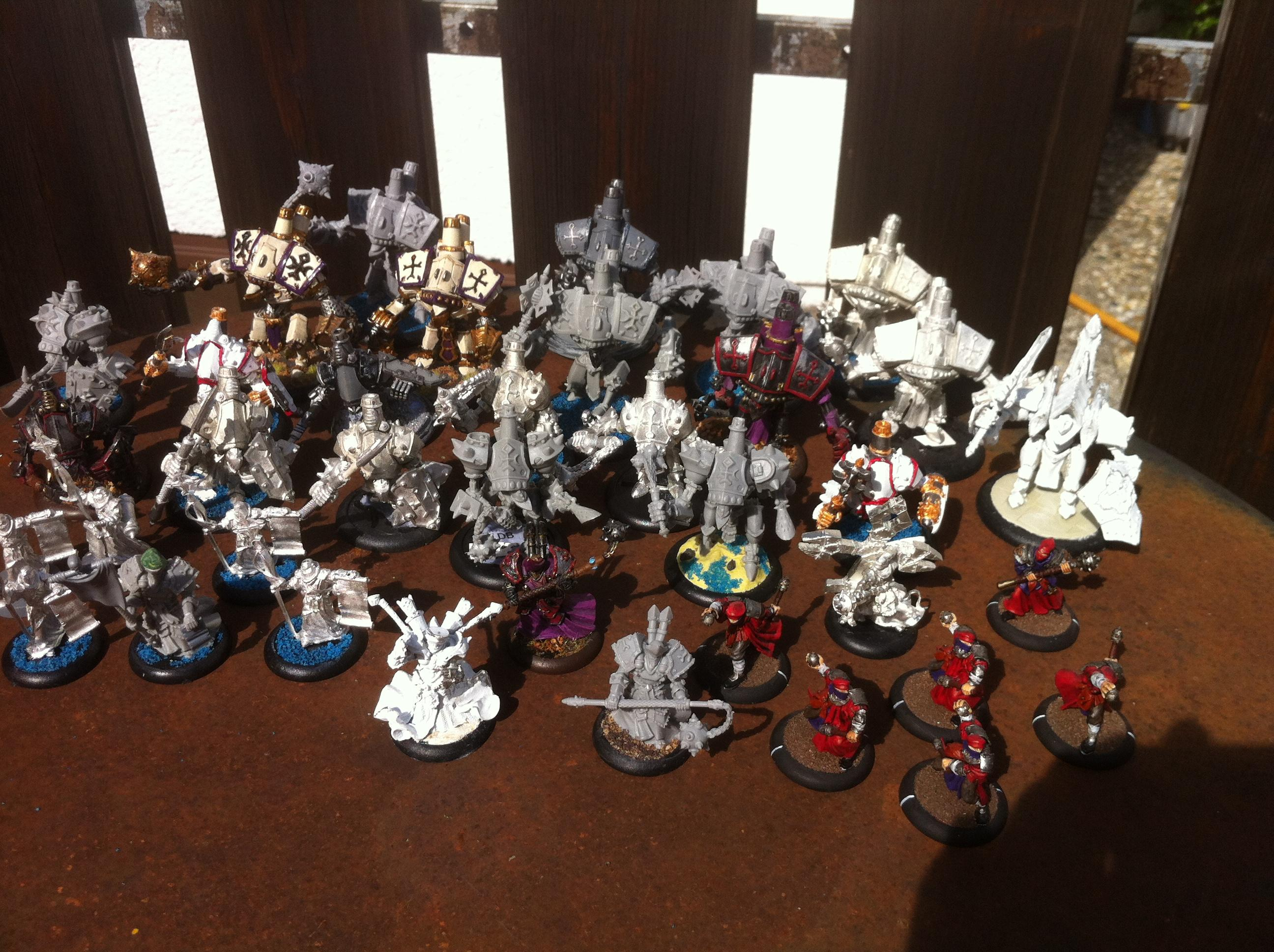 Choir, Feora, Monster, Protectorate Of Menoth, Protectoriat, Scratch Build, Warcaster, Warjack, Warmachine