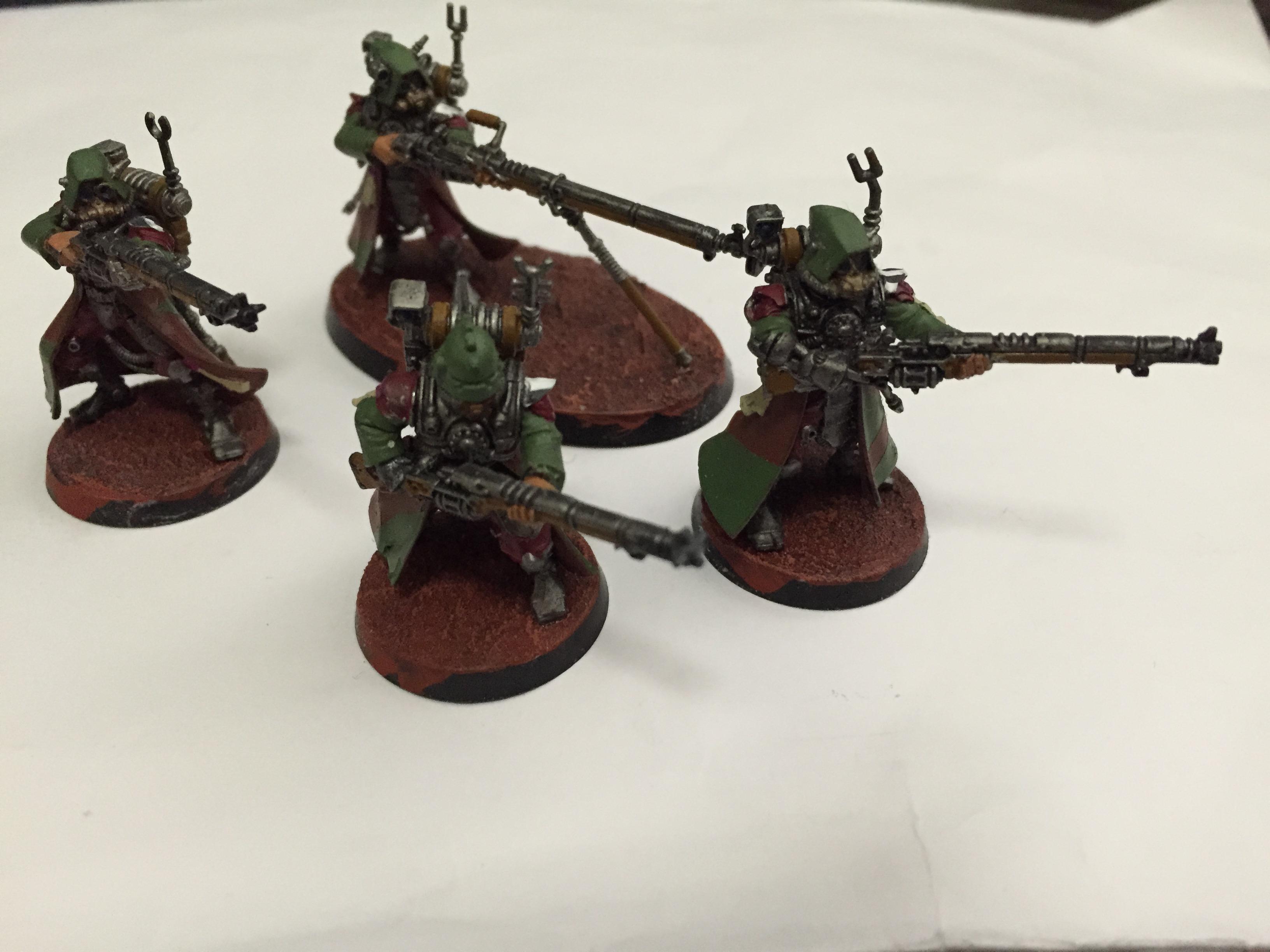 Adeptus Mechanicus, Admech, Camouflage, Rangers, Skitarii, Warhammer 40,000