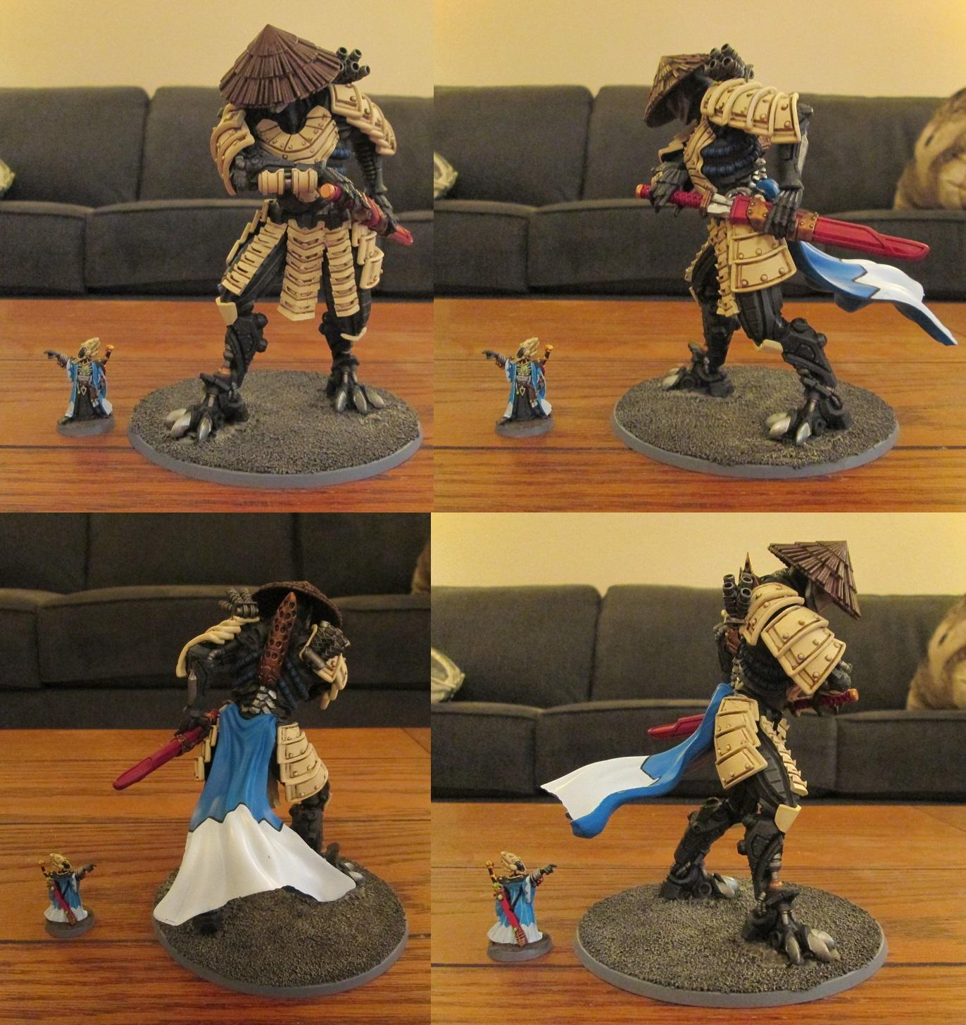 Mecha, Mishima, Robot, Samurai, Warzone