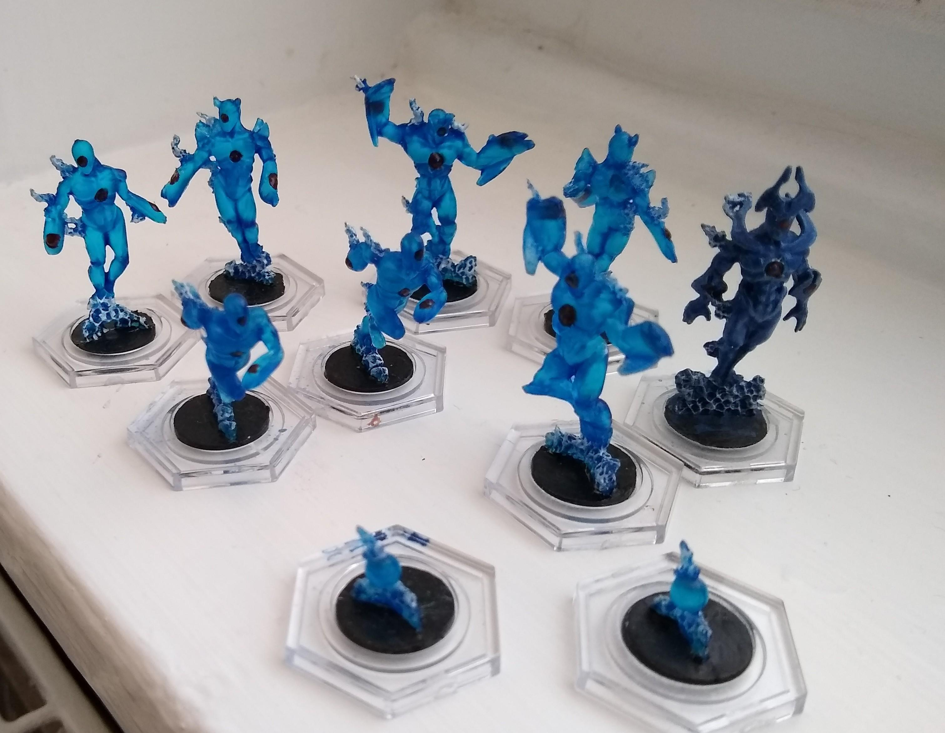 Trans blue ghosts
