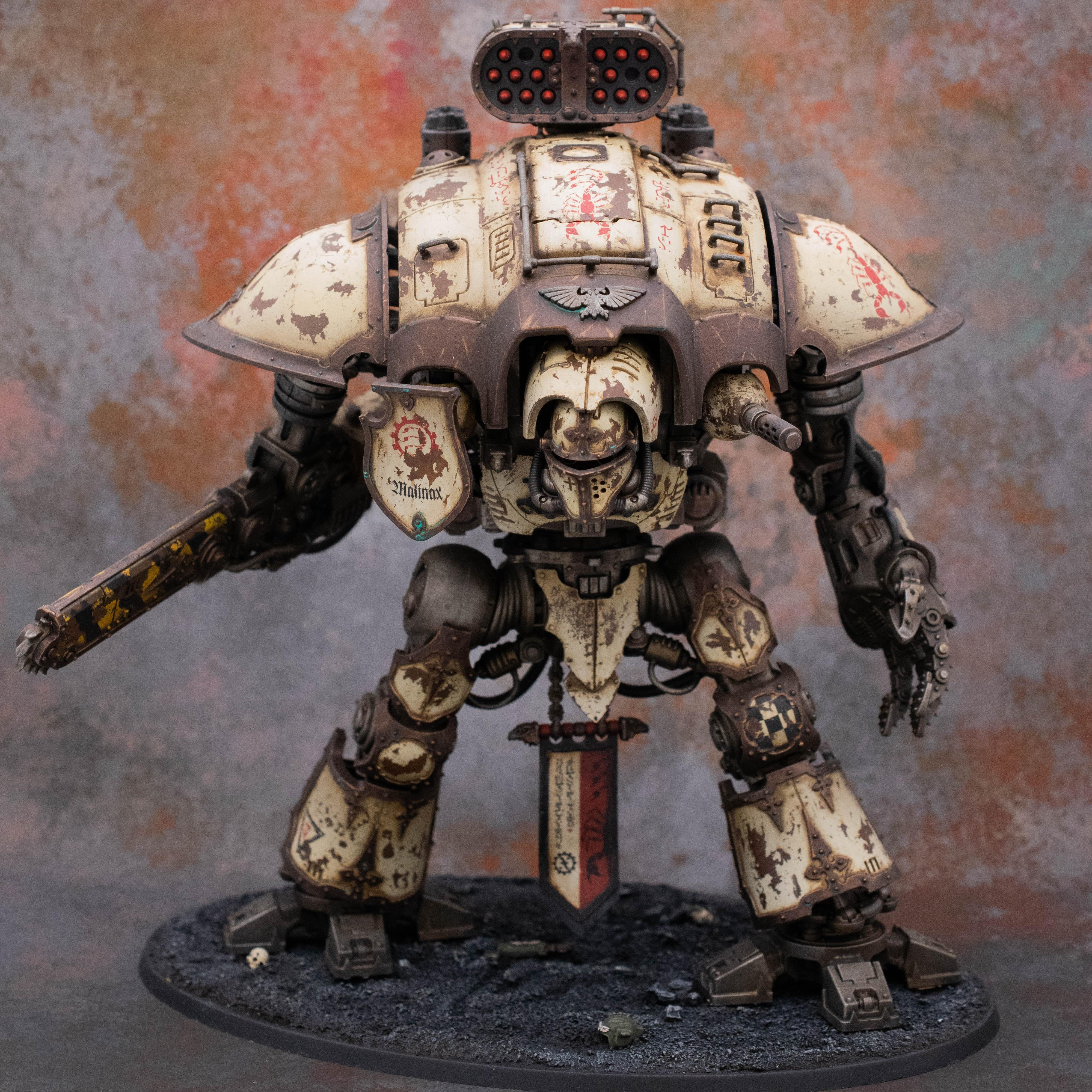 Imperial Knight, Malinax, Traitor, Weathered