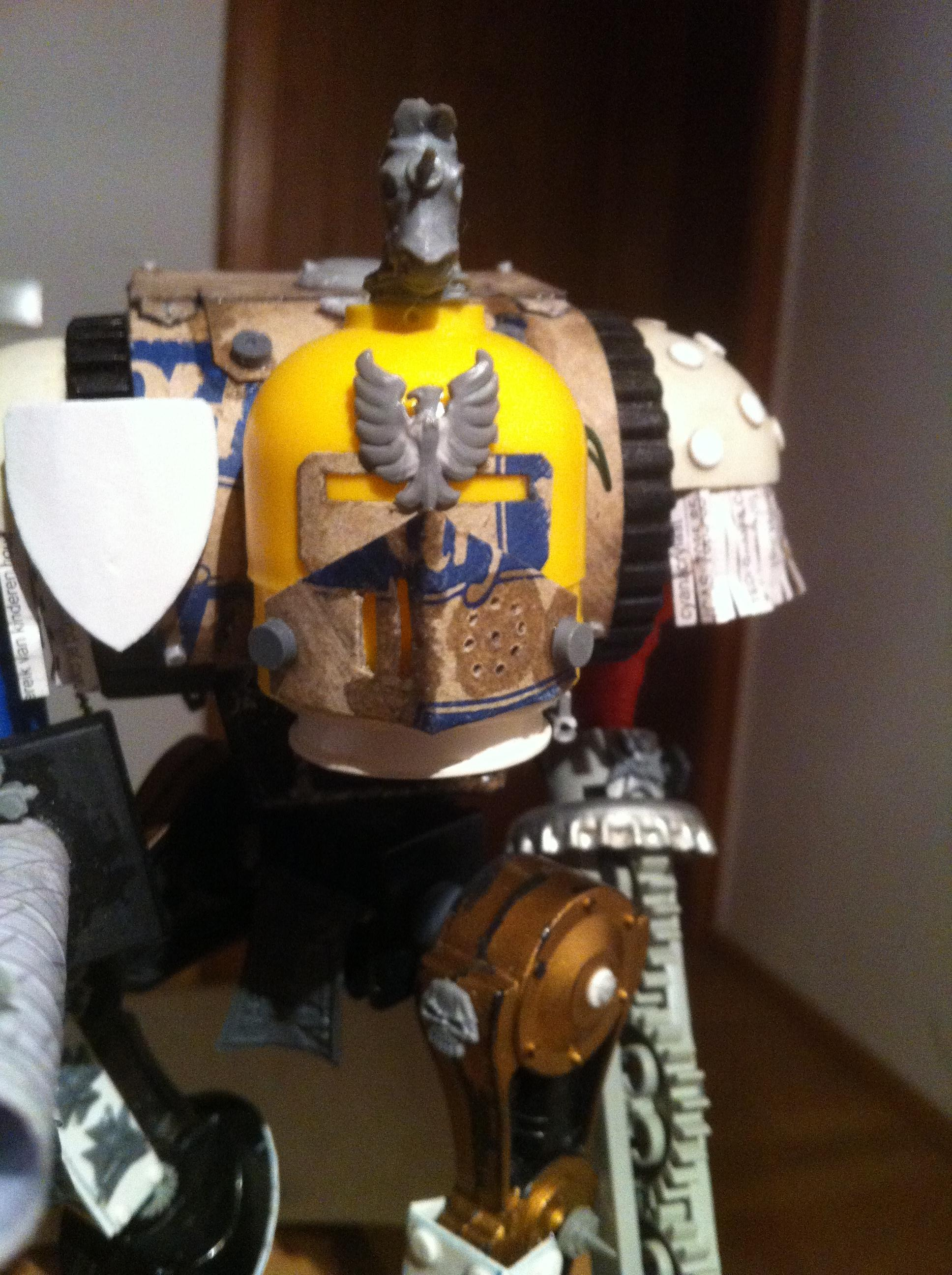 Adeptus, Build, Egg, Imperial, Knights, Scratch Build, Surprise, Titanicus, Trash, Walker, Warhammer 40,000