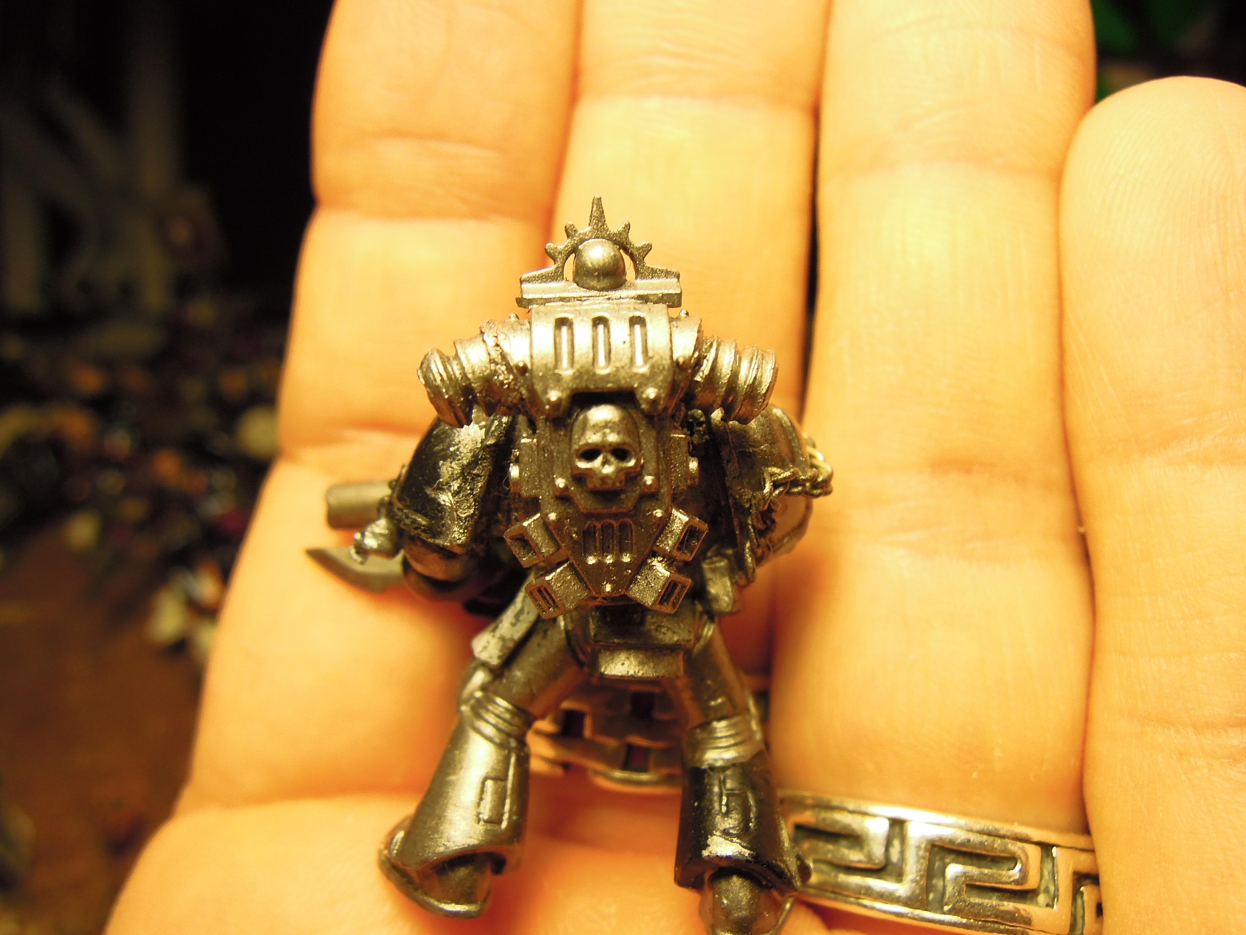 Chaos, Chaos Space Marines, Conversion, Heretic Astartes, Iron Warriors, Iron Within, Iron Without!, Warhammer 40,000, Work In Progress