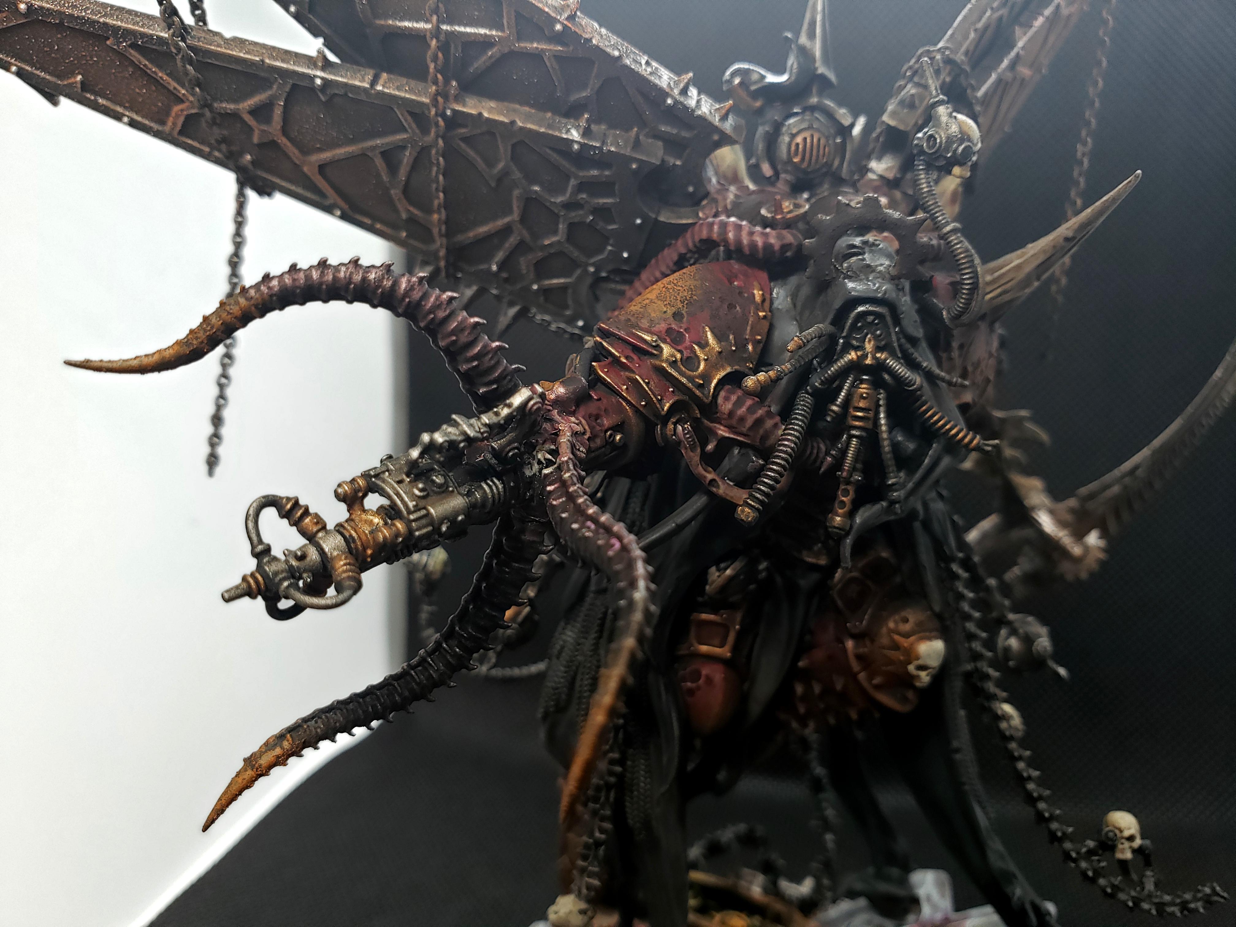 Adeptus Mechanicus, Admech, Conversion, Dark Mechanicum, Darkmech, Death Guard, Kitbash, Mortarion, Warhammer 40,000, Warhammer Fantasy