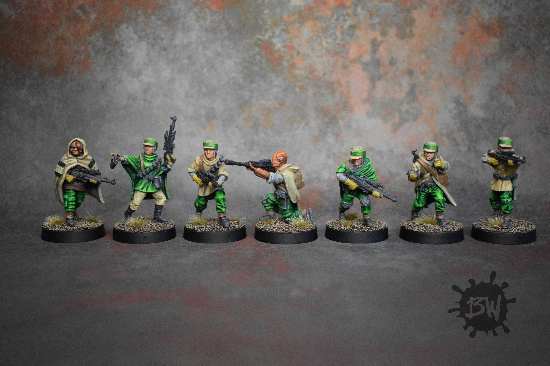 Bw, Commission, Ffg, Rebel, Rebel Commandos, Star Wars, Star Wars Legion