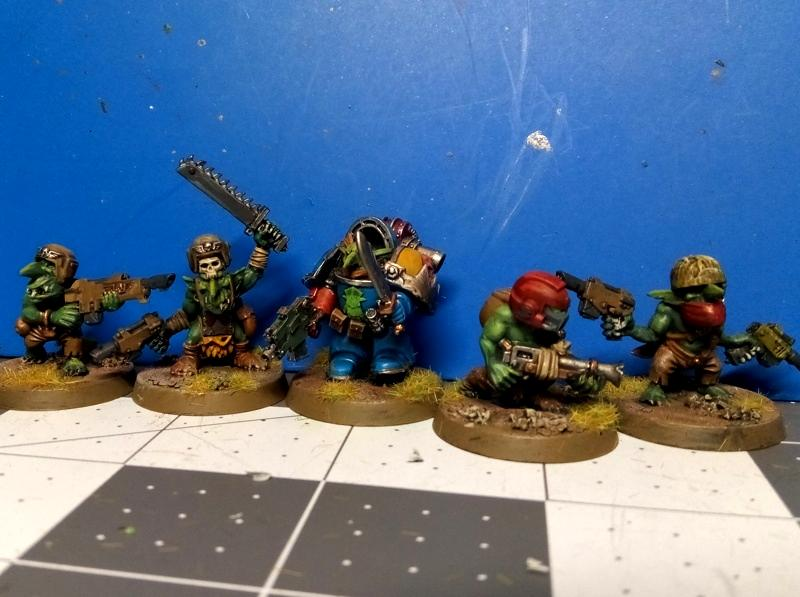 Conversion, Gretchin, Grots, Looted, Orks