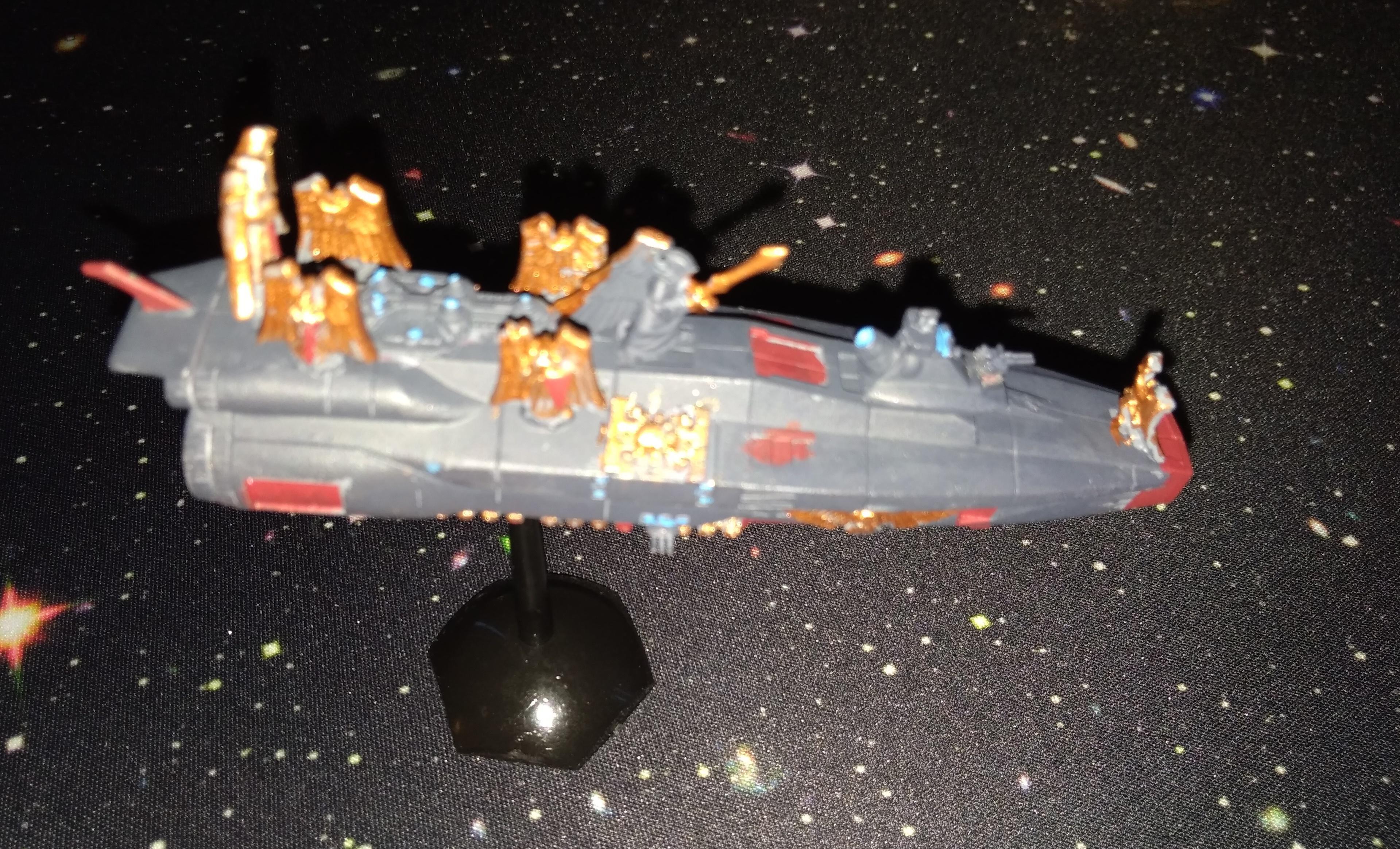 Bandai, Battlefleet Gothic, Black Ship, Inquisition, Mass Conveyor, Yamato
