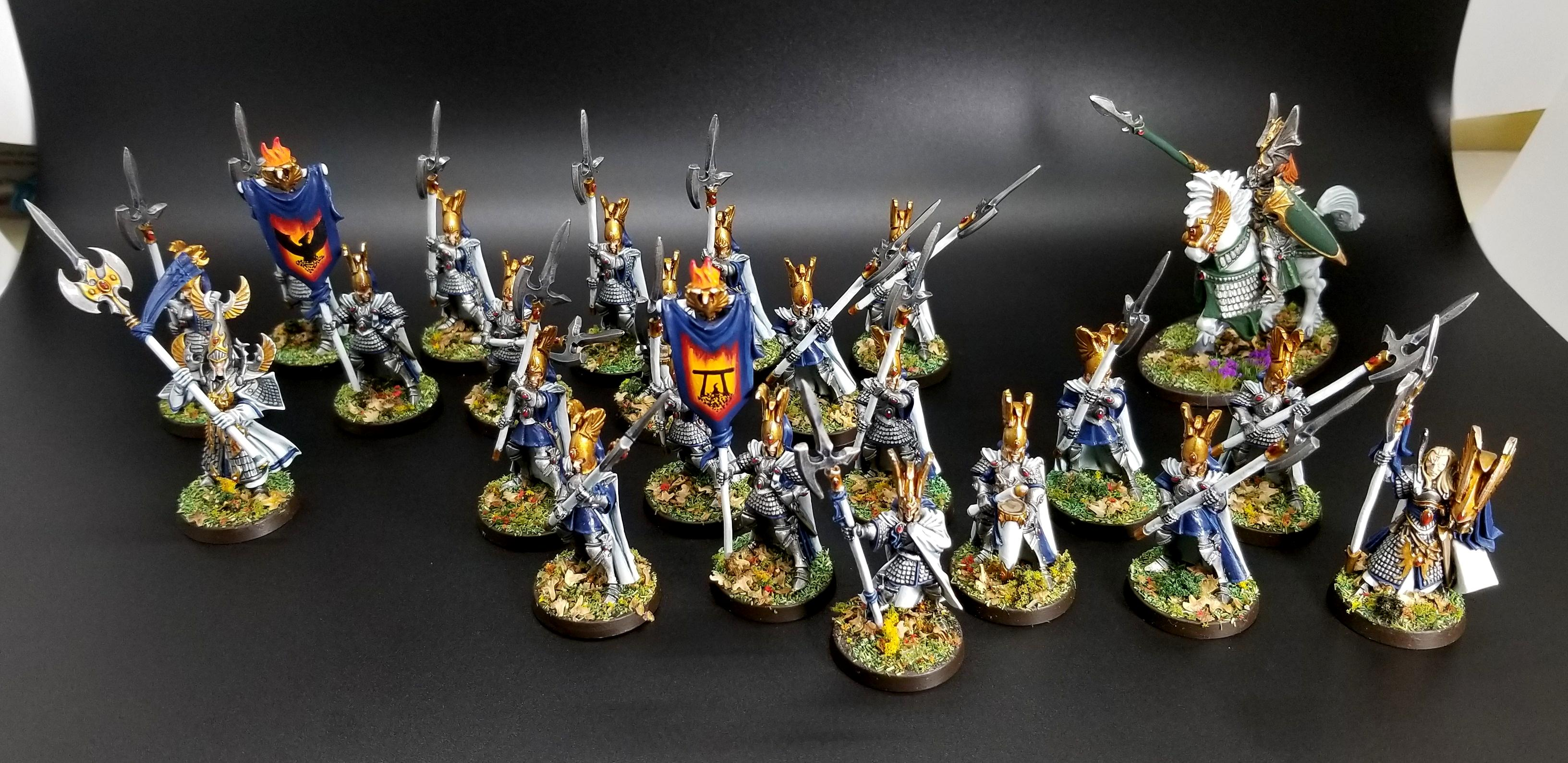 Aelves, Dragon Prince, High Elves, Phoenix Guard, Phoenix Temple