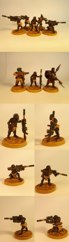 Arfica, Imperial Guard, Pygmy, Snipers, Tallarn Desert Raiders