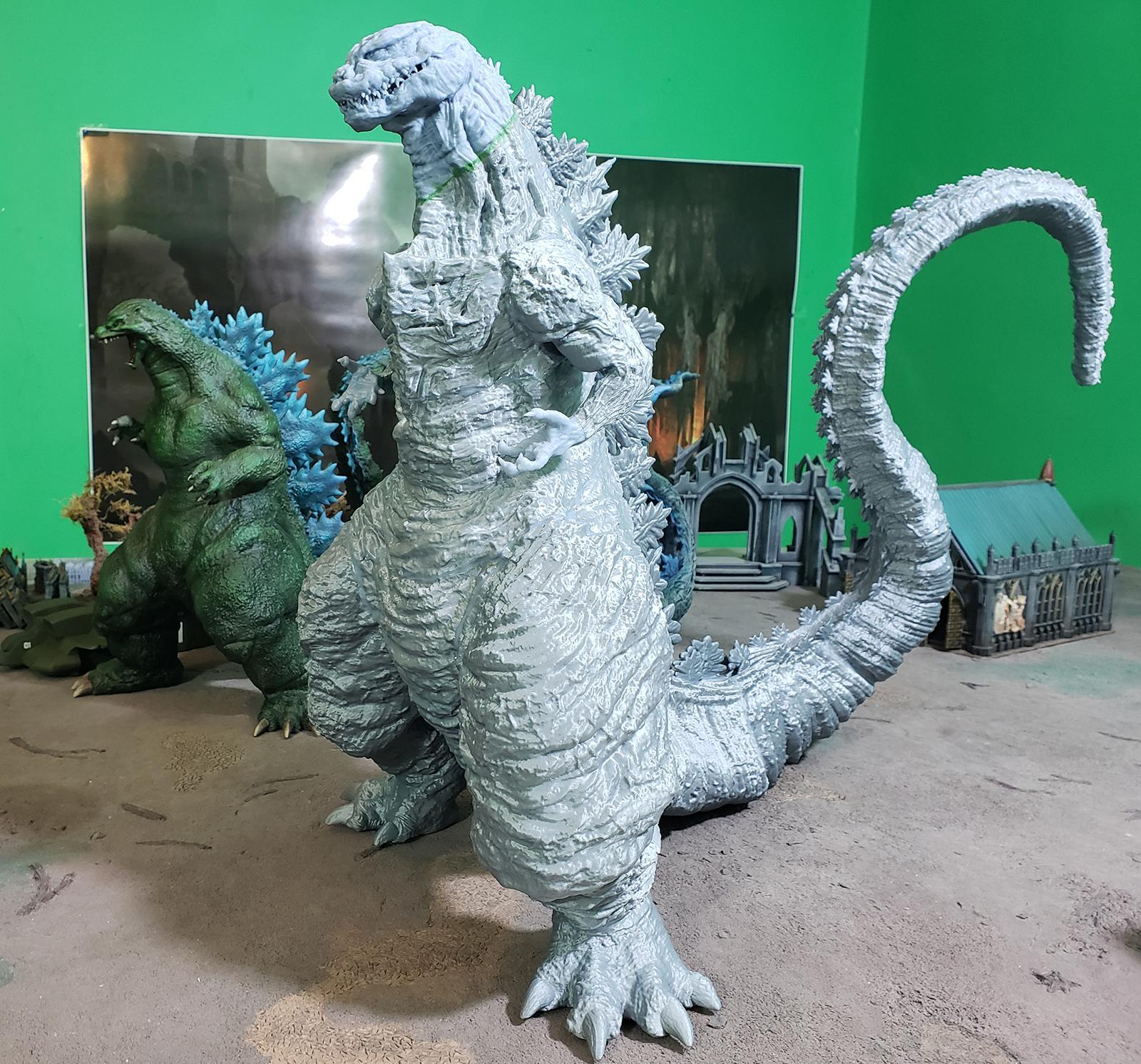 3d Printing, Anycubic I3 Mega, Anycubic Photon, Dlp, Fdm, Gambody, Godzilla, Kaiju, Large, Shin Godzilla