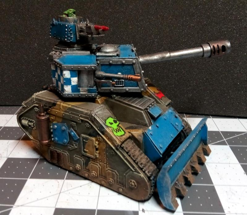 Conversion, Gunwagon, Leman Russ, Looted, Looted Wagon, Orks, Tank
