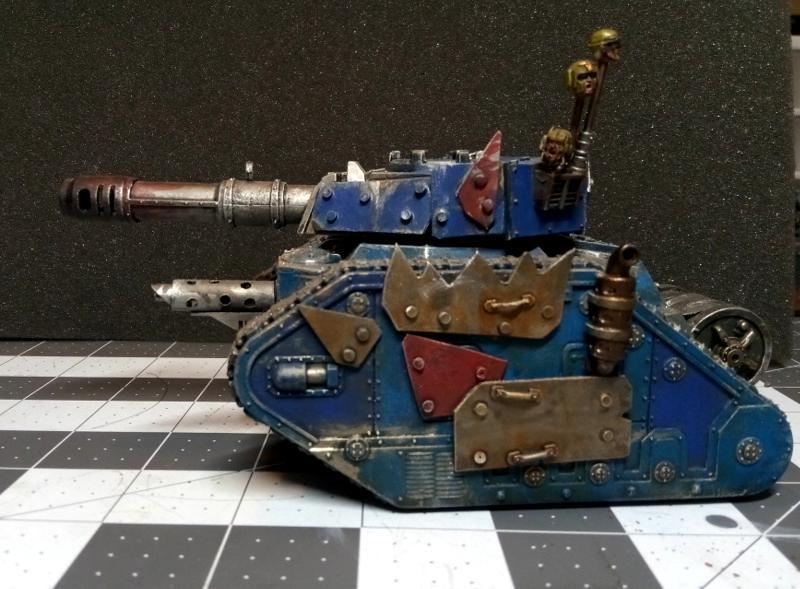 Conversion, Gunwagon, Leman Russ, Looted, Looted Wagon, Orks, Tank