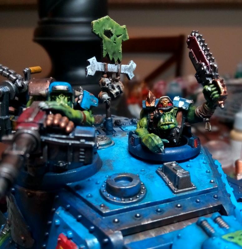 Kill Tank, Orks, Kill tank kommanda