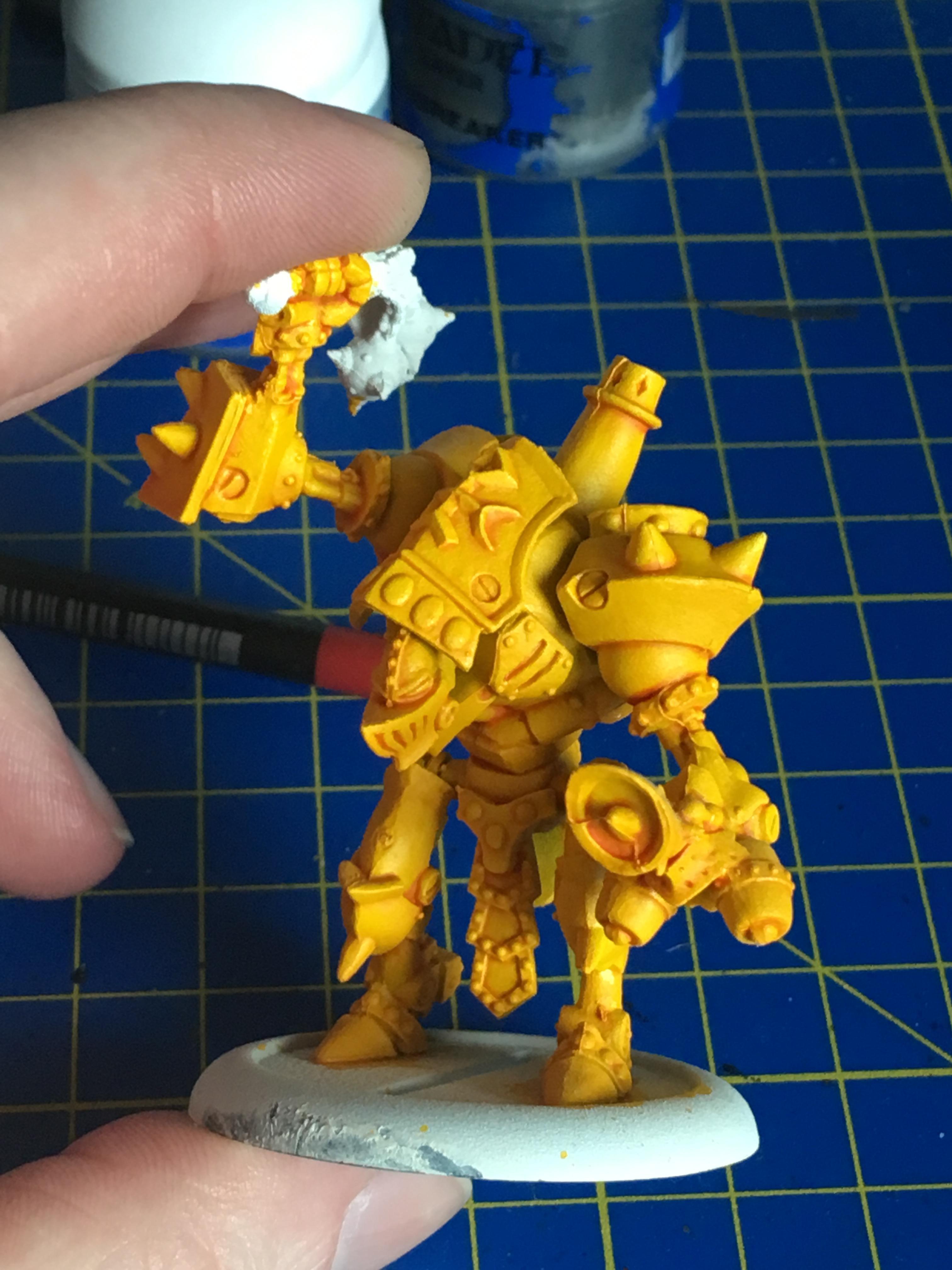 yellow test