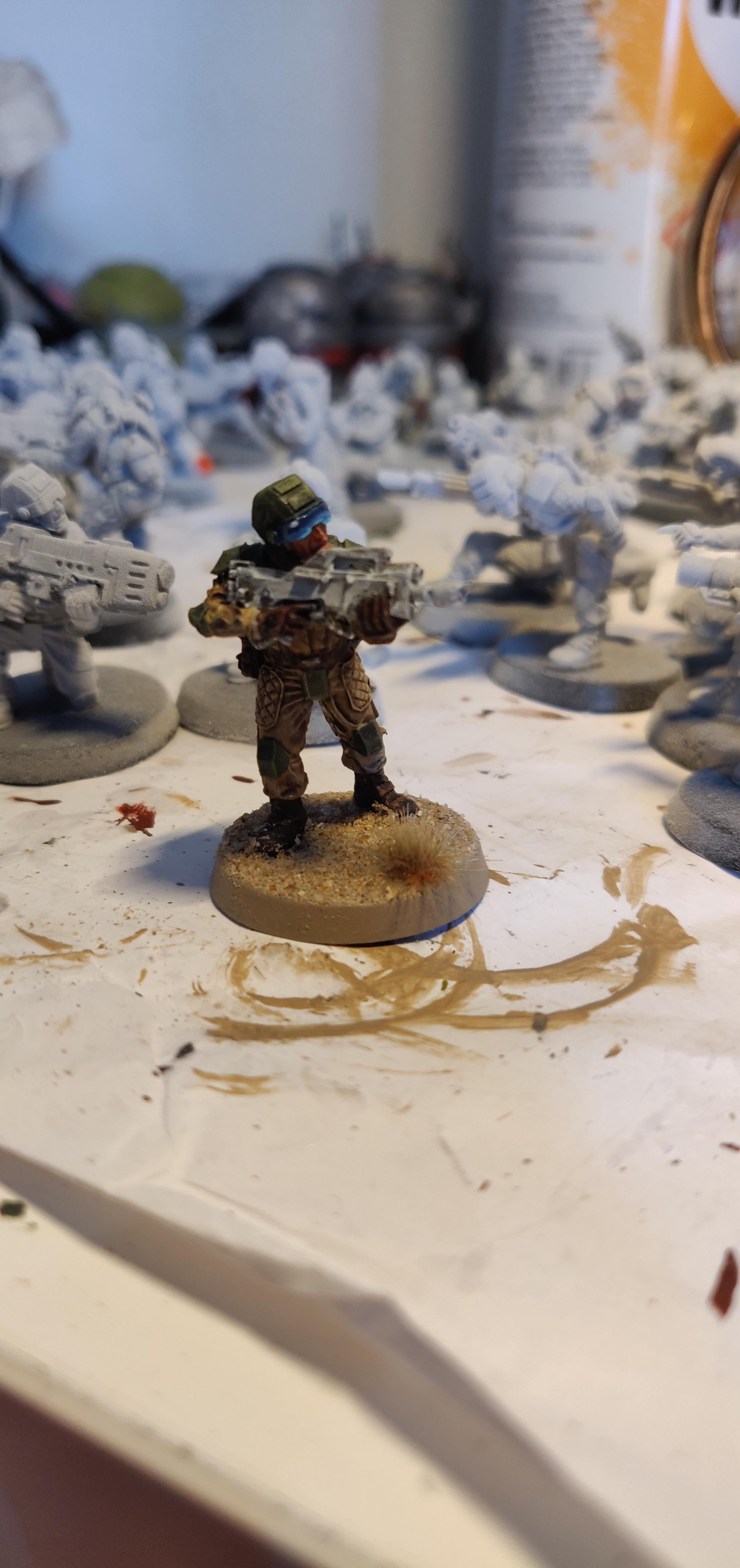 Drop trooper