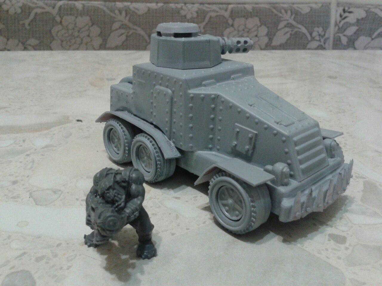 Armored Car, Buggy, Orks