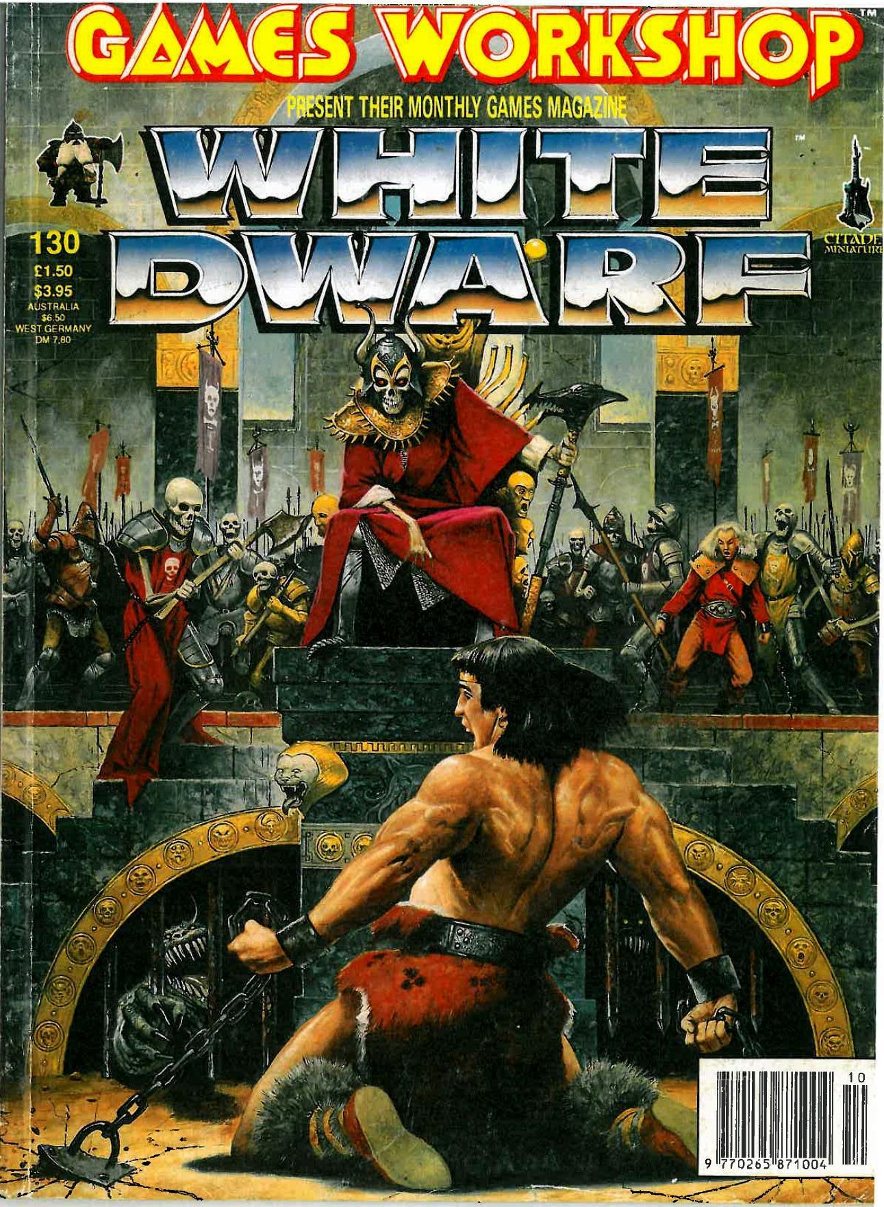 Copyright Games Workshop, Retro Review, White Dwarf