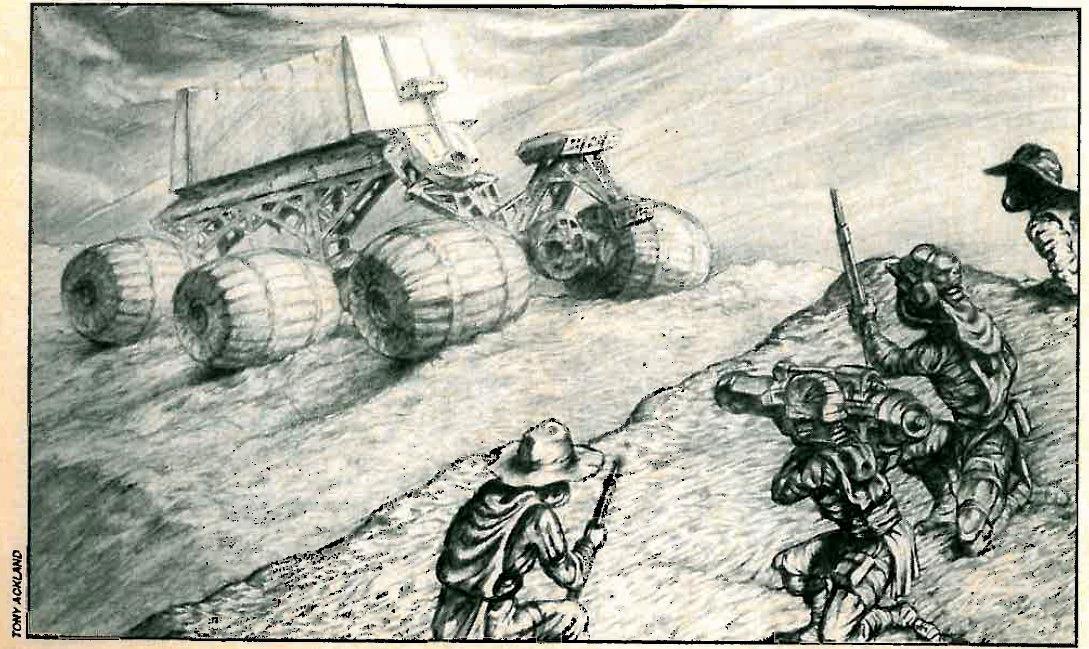 Confrontation, Copyright Games Workshop, Necromunda, Retro Review, Tony Ackland, Warhammer 40,000, White Dwarf
