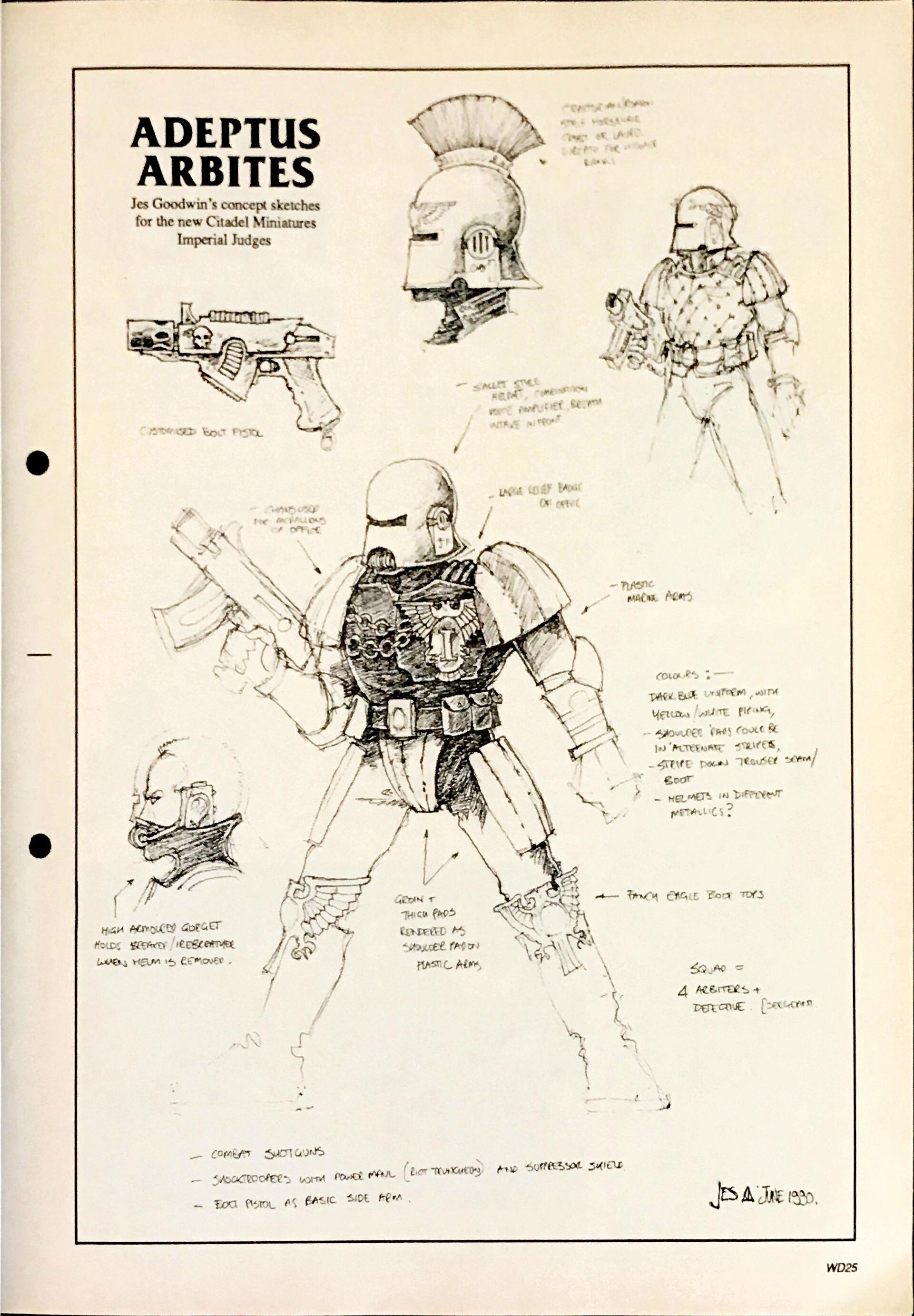 Confrontation, Copyright Games Workshop, Jes Goodwin, Necromunda, Retro Review, Warhammer 40,000, White Dwarf